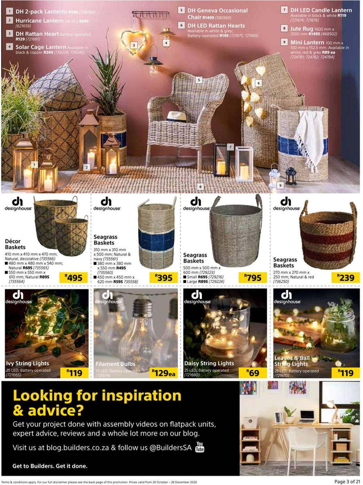 Builders Warehouse Catalogue - 2020/10/20-2020/12/28 (Page 3)