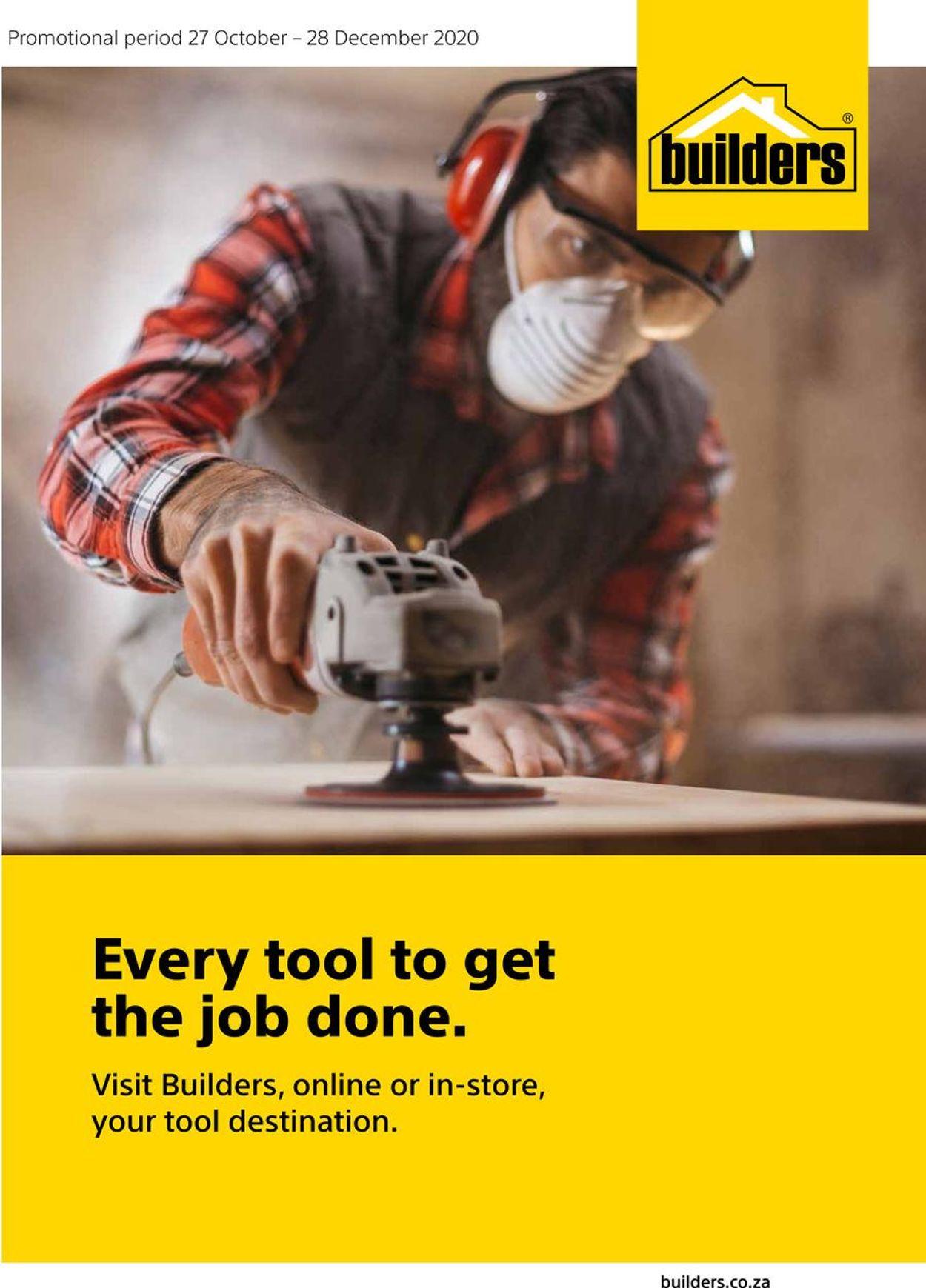Builders Warehouse Catalogue - 2020/10/27-2020/12/28