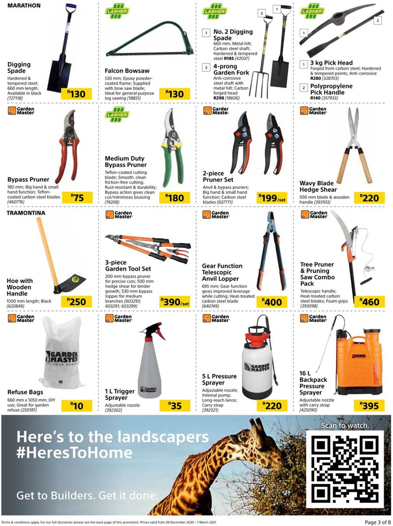 Builders Warehouse Time To Make A Splash Catalogue - 2020/12/29-2021/03/01 (Page 3)