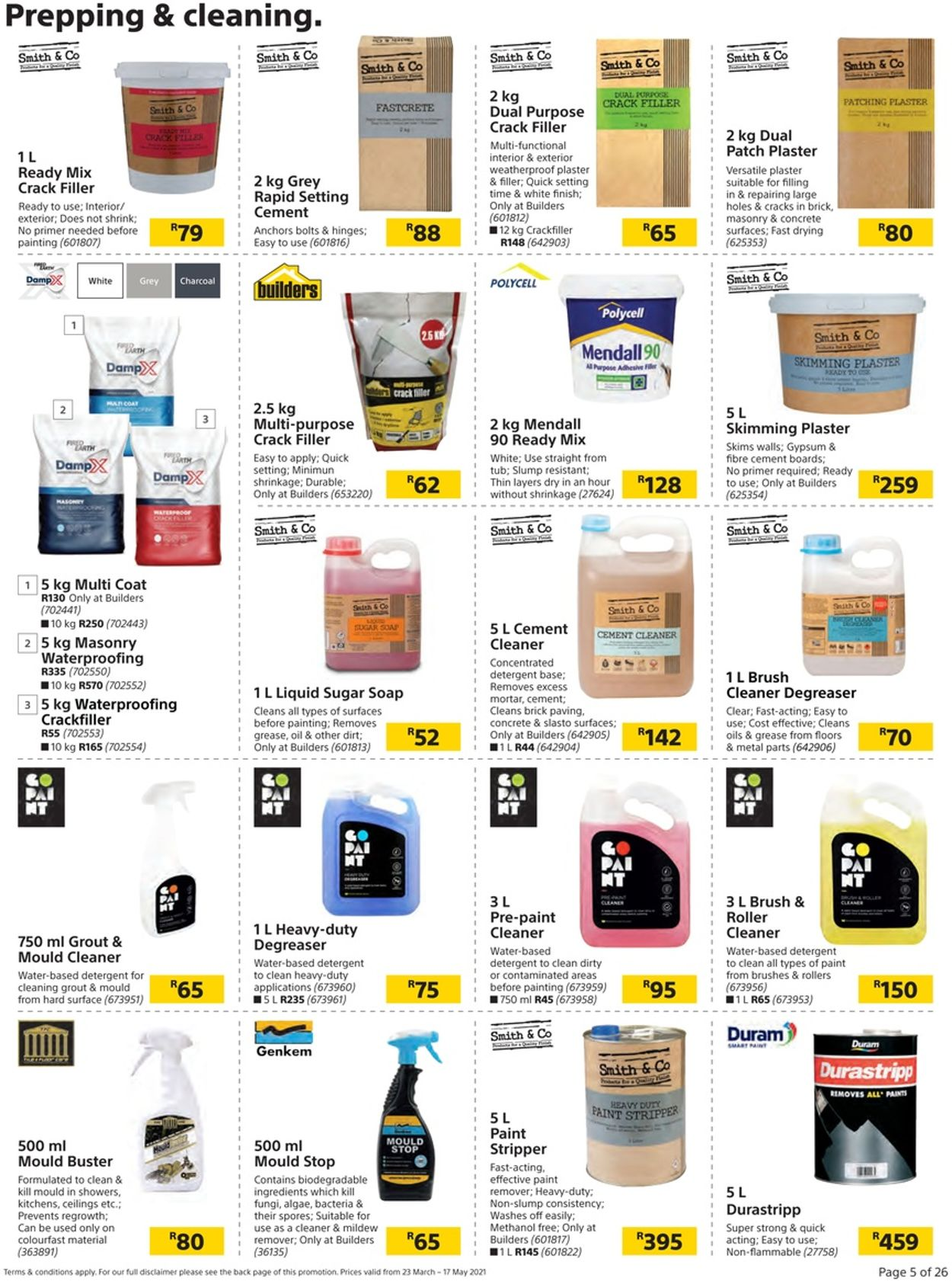 Builders Warehouse Catalogue - 2021/03/23-2021/05/17 (Page 5)
