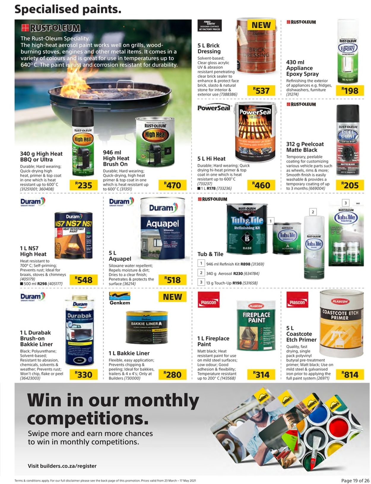 Builders Warehouse Catalogue - 2021/03/23-2021/05/17 (Page 19)