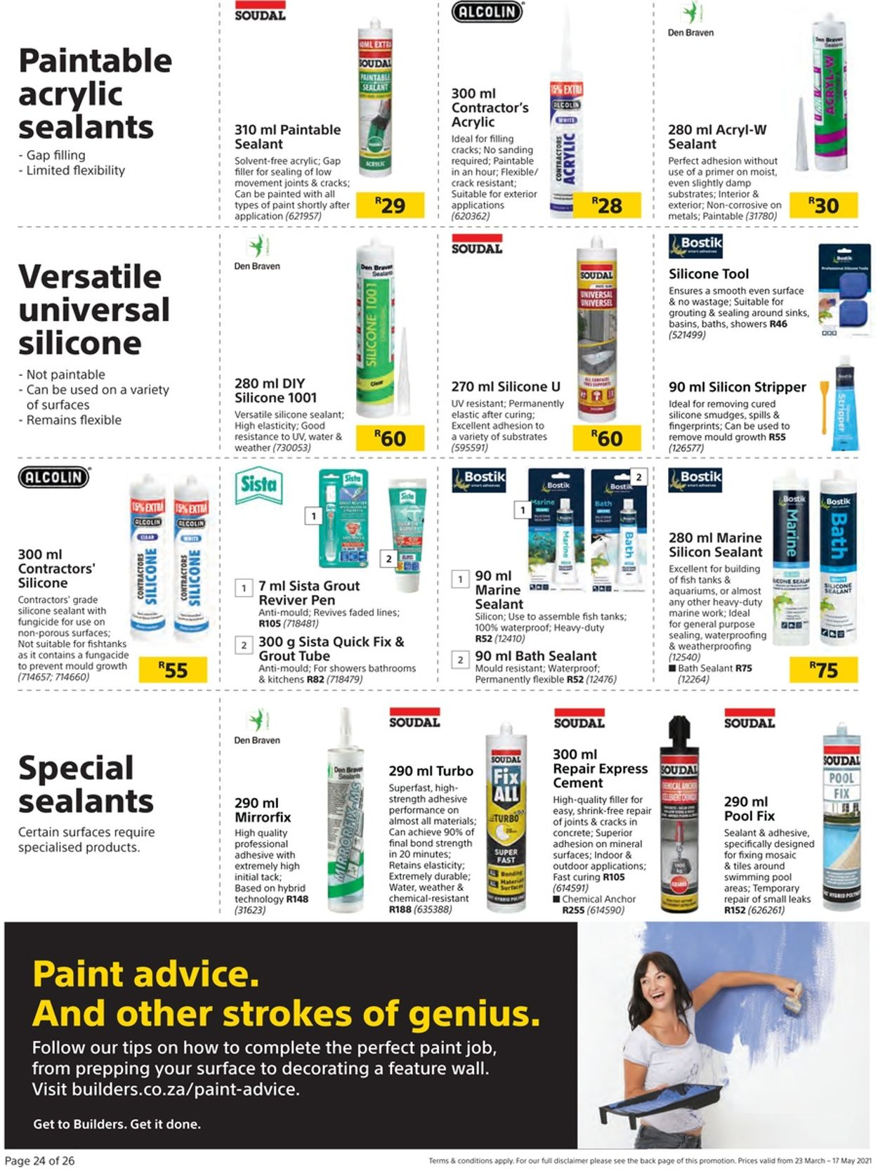 Builders Warehouse Catalogue - 2021/03/23-2021/05/17 (Page 24)