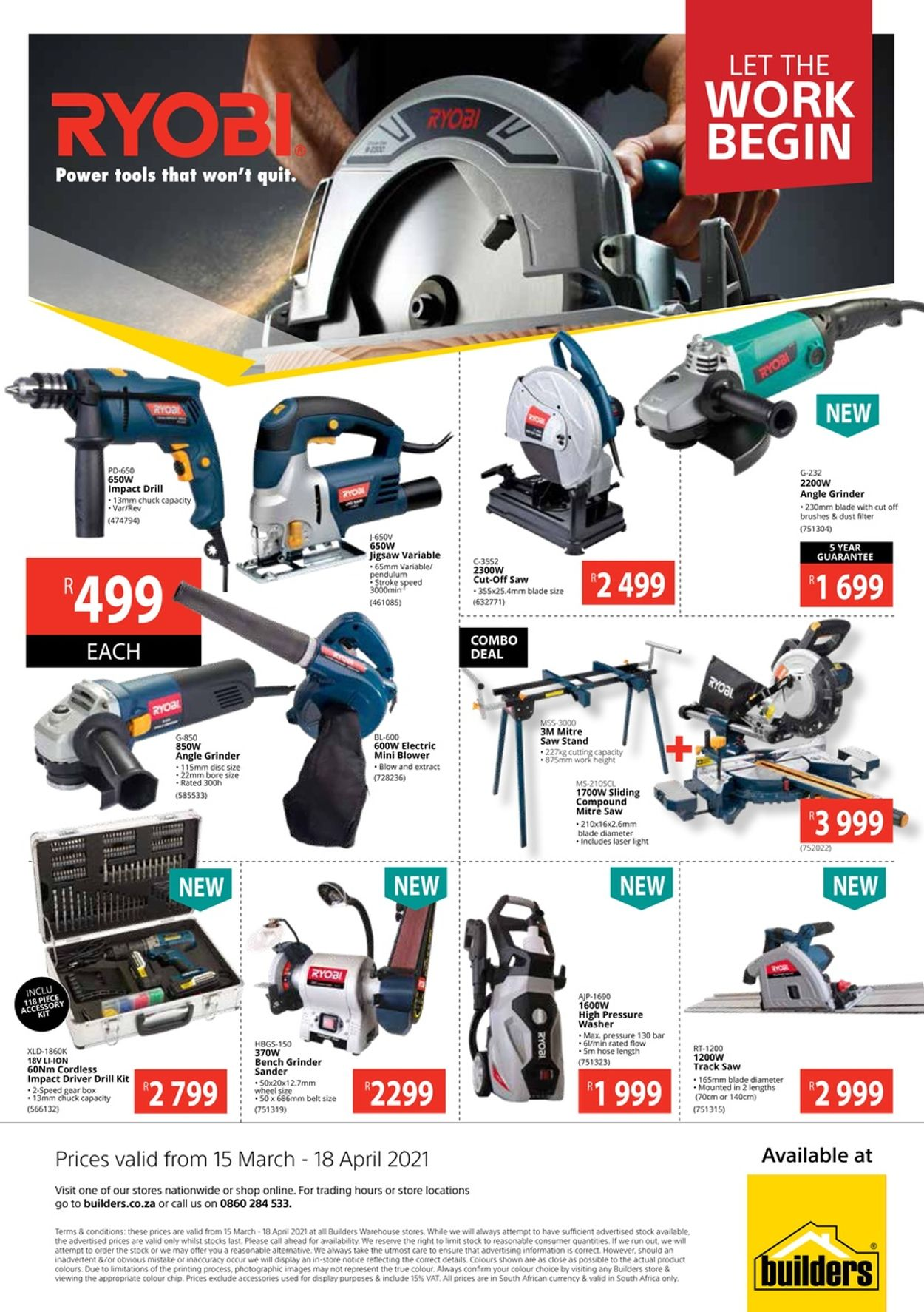 Builders Warehouse Catalogue - 2021/03/15-2021/04/18