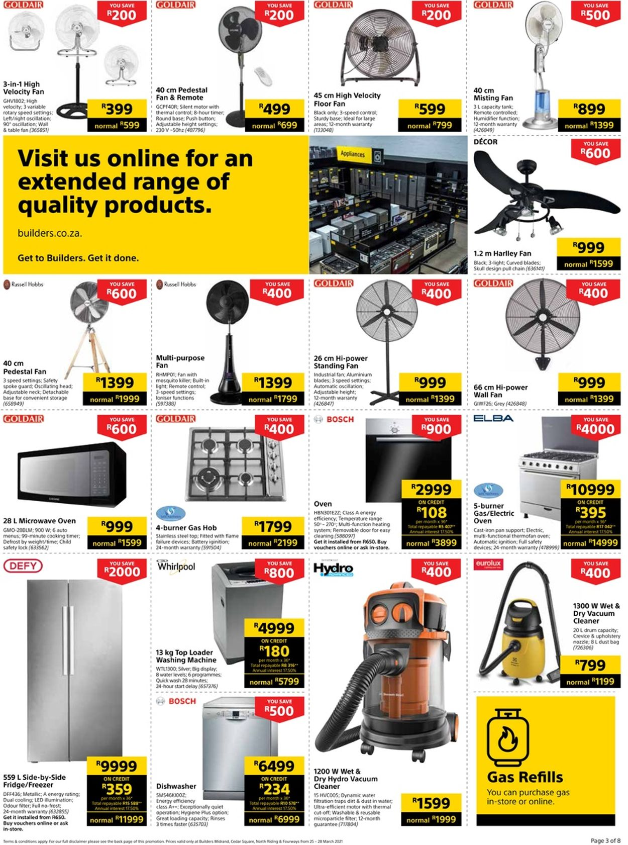 Builders Warehouse Catalogue - 2021/03/25-2021/03/28 (Page 3)