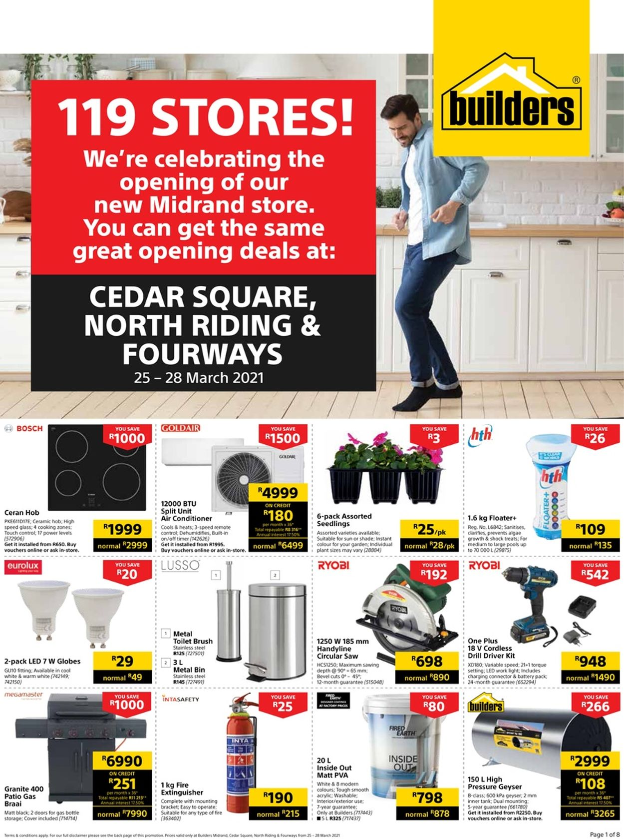 Builders Warehouse Catalogue - 2021/03/25-2021/03/28