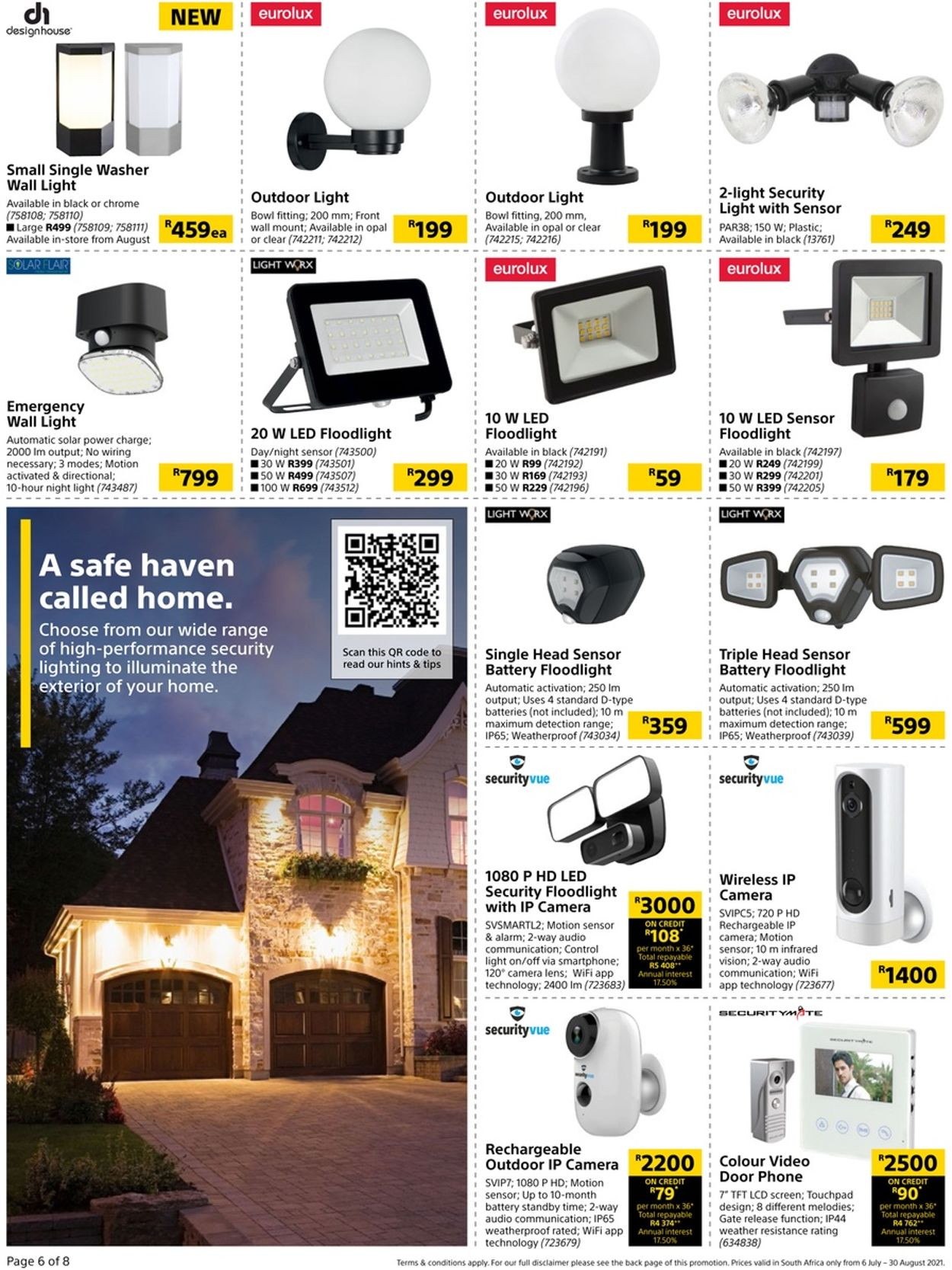 Builders Warehouse Catalogue - 2021/07/06-2021/08/30 (Page 6)