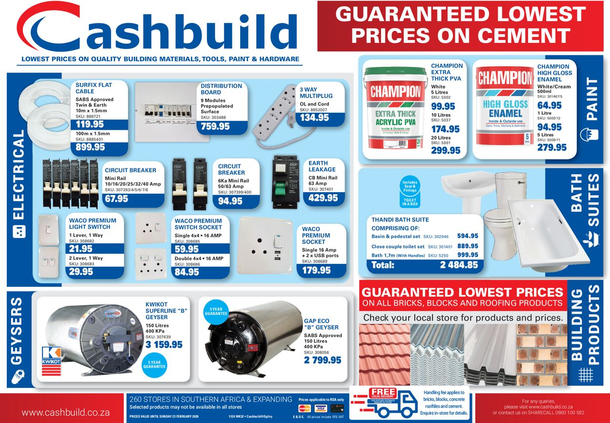 Cashbuild Catalogue - 2020/02/03-2020/02/23