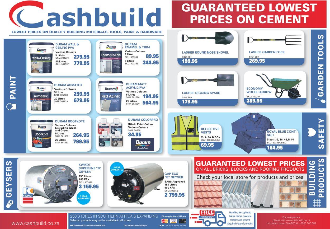 Cashbuild Catalogue - 2020/03/02-2020/03/22