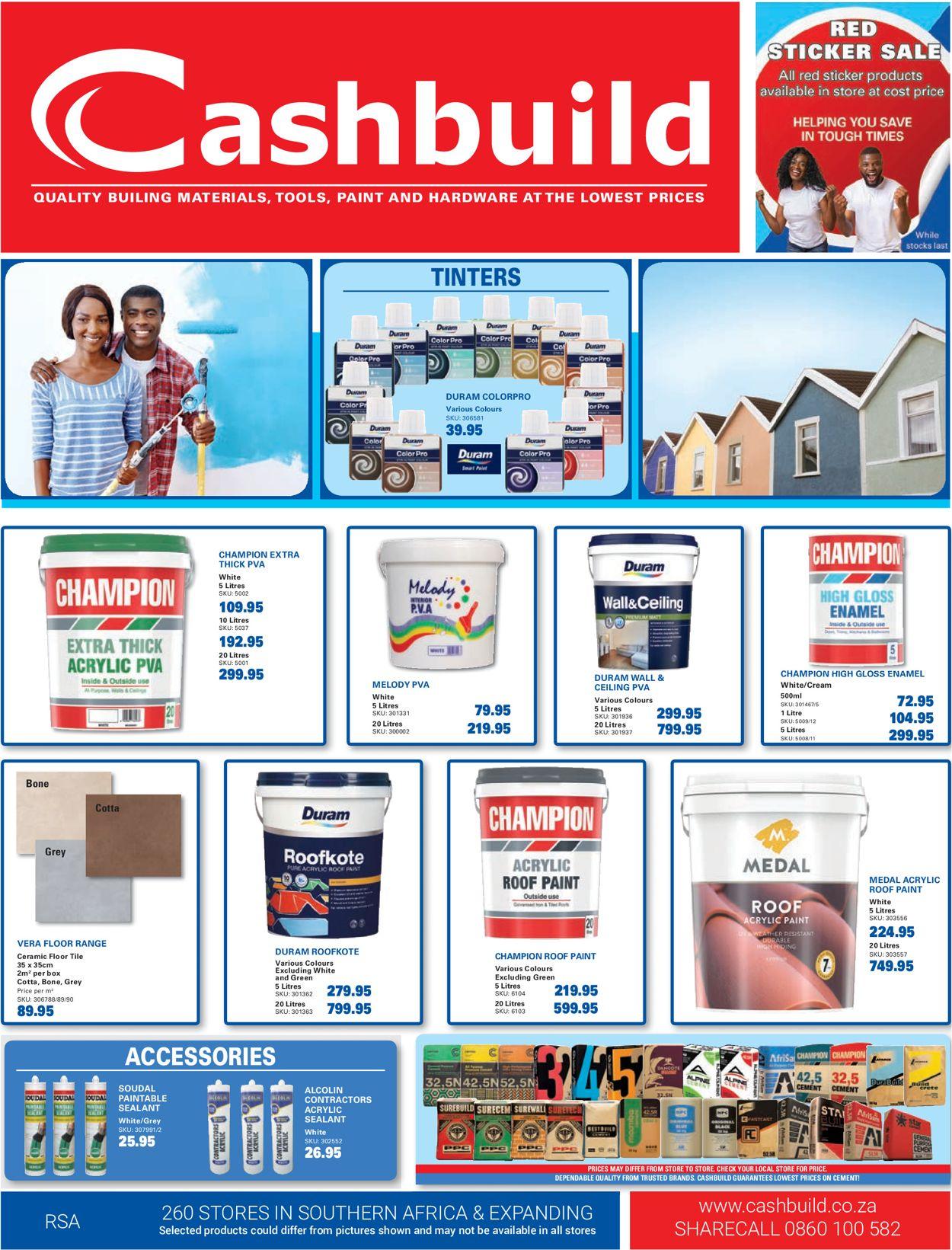 Cashbuild Catalogue - 2020/08/24-2020/09/20