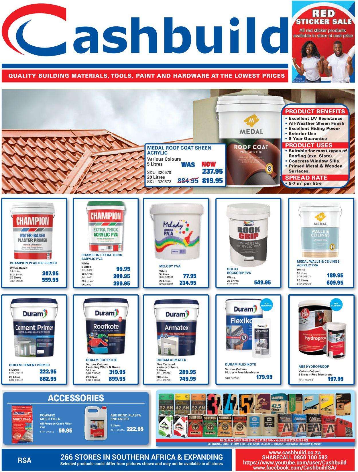 Cashbuild Catalogue - 2021/09/20-2021/10/24