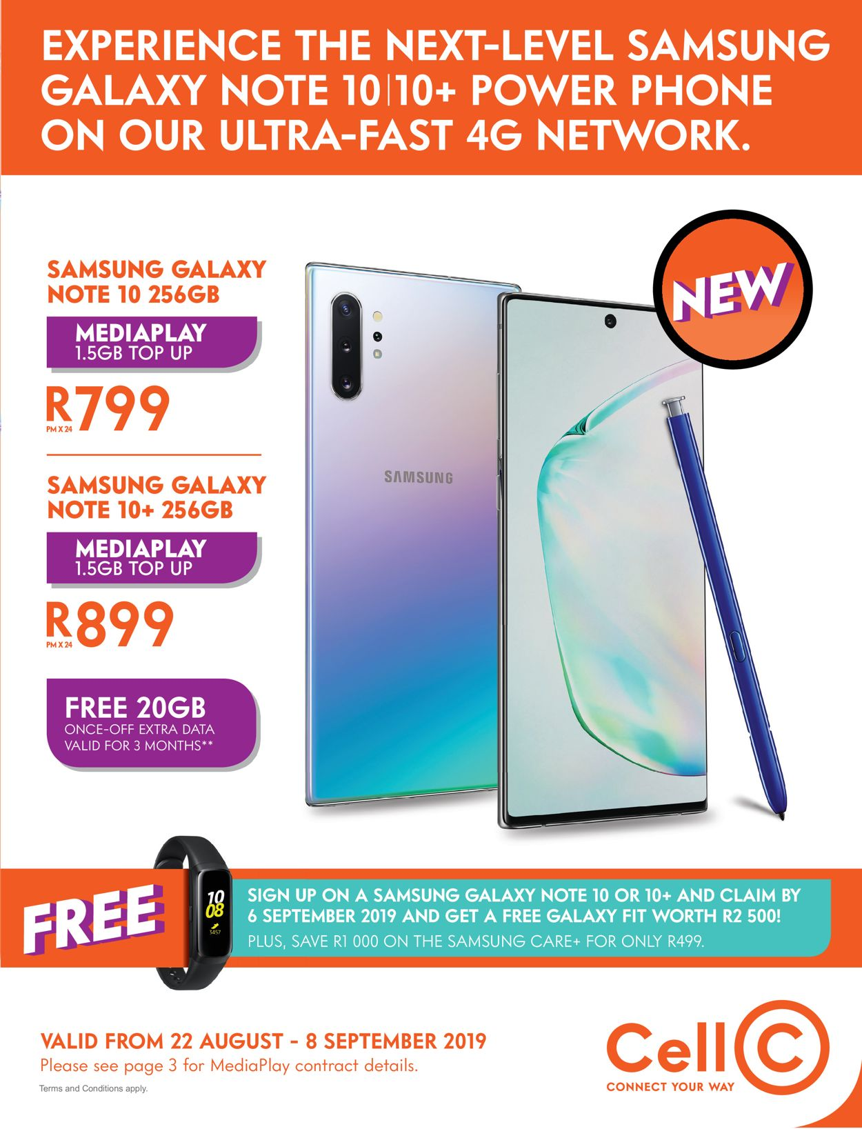 Cell C Catalogue - 2019/08/22-2019/09/08