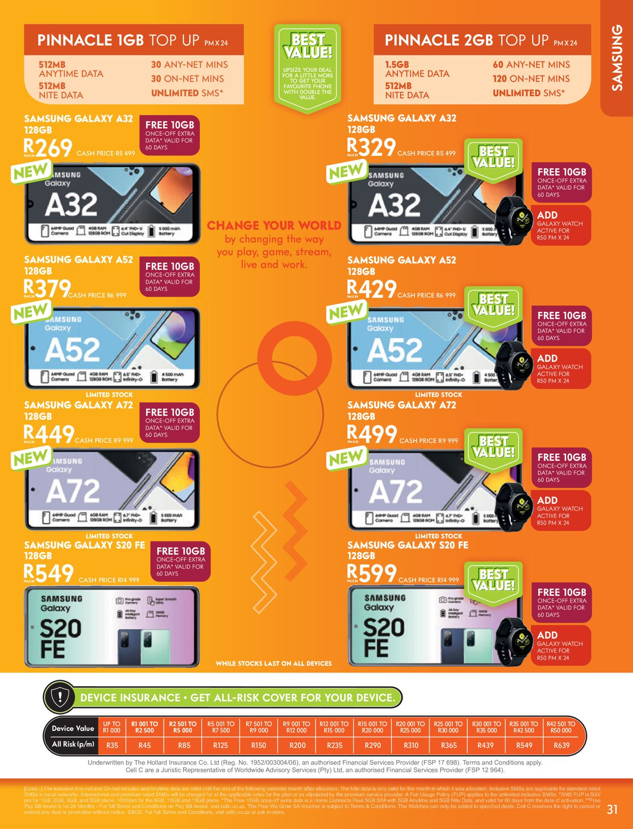 Cell C Catalogue - 2021/06/02-2021/07/12 (Page 31)