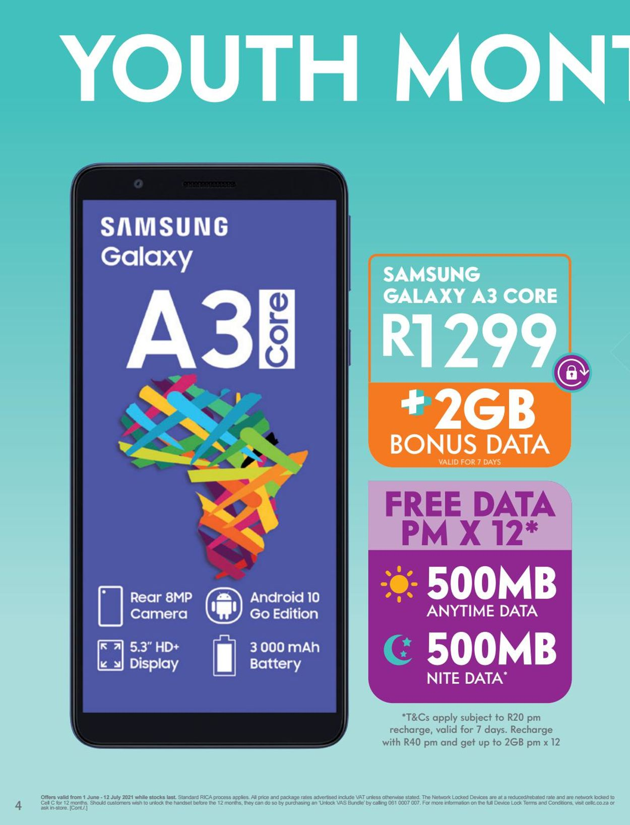 Cell C Catalogue - 2021/05/31-2021/07/12 (Page 4)