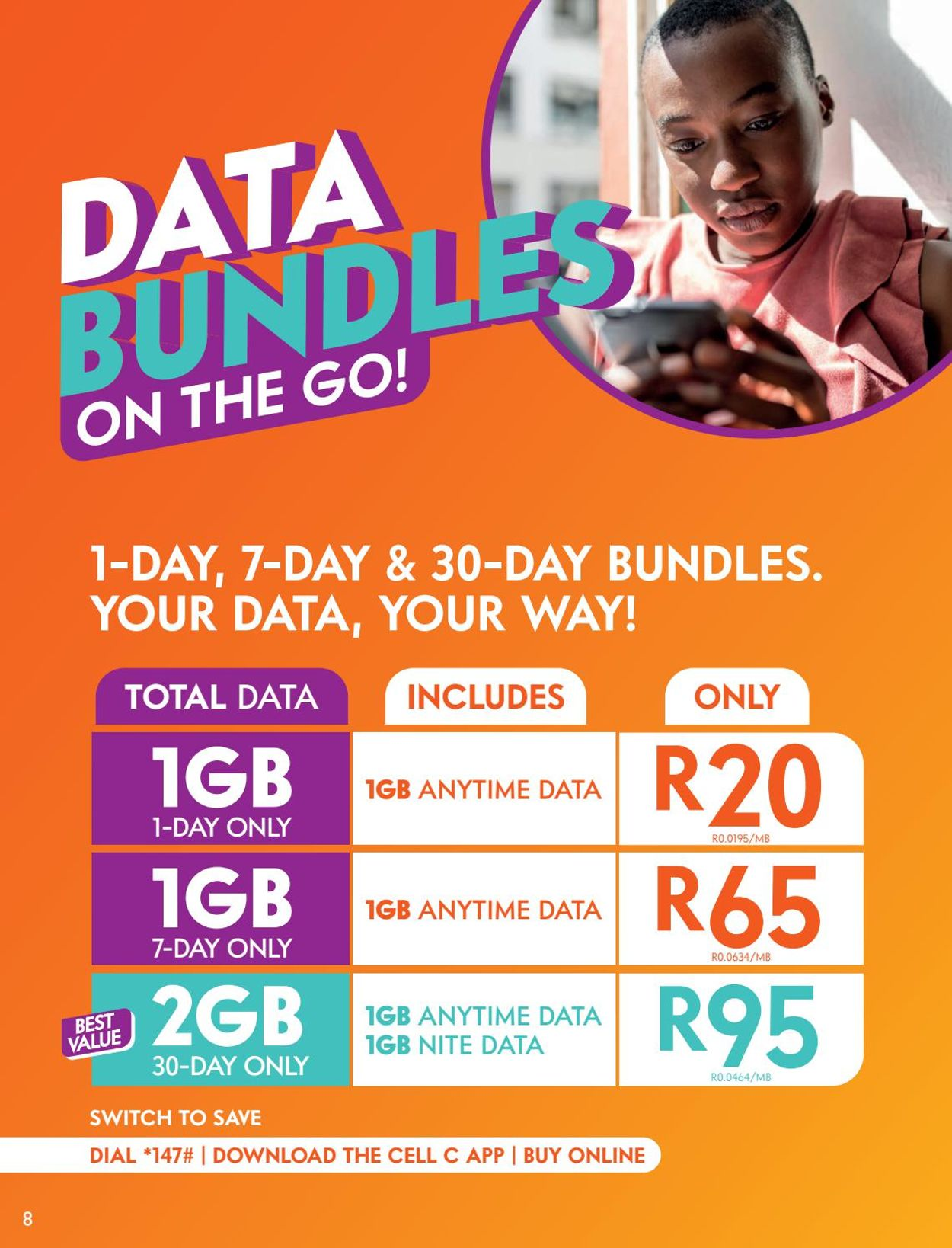 Cell C Catalogue - 2021/05/31-2021/07/12 (Page 8)