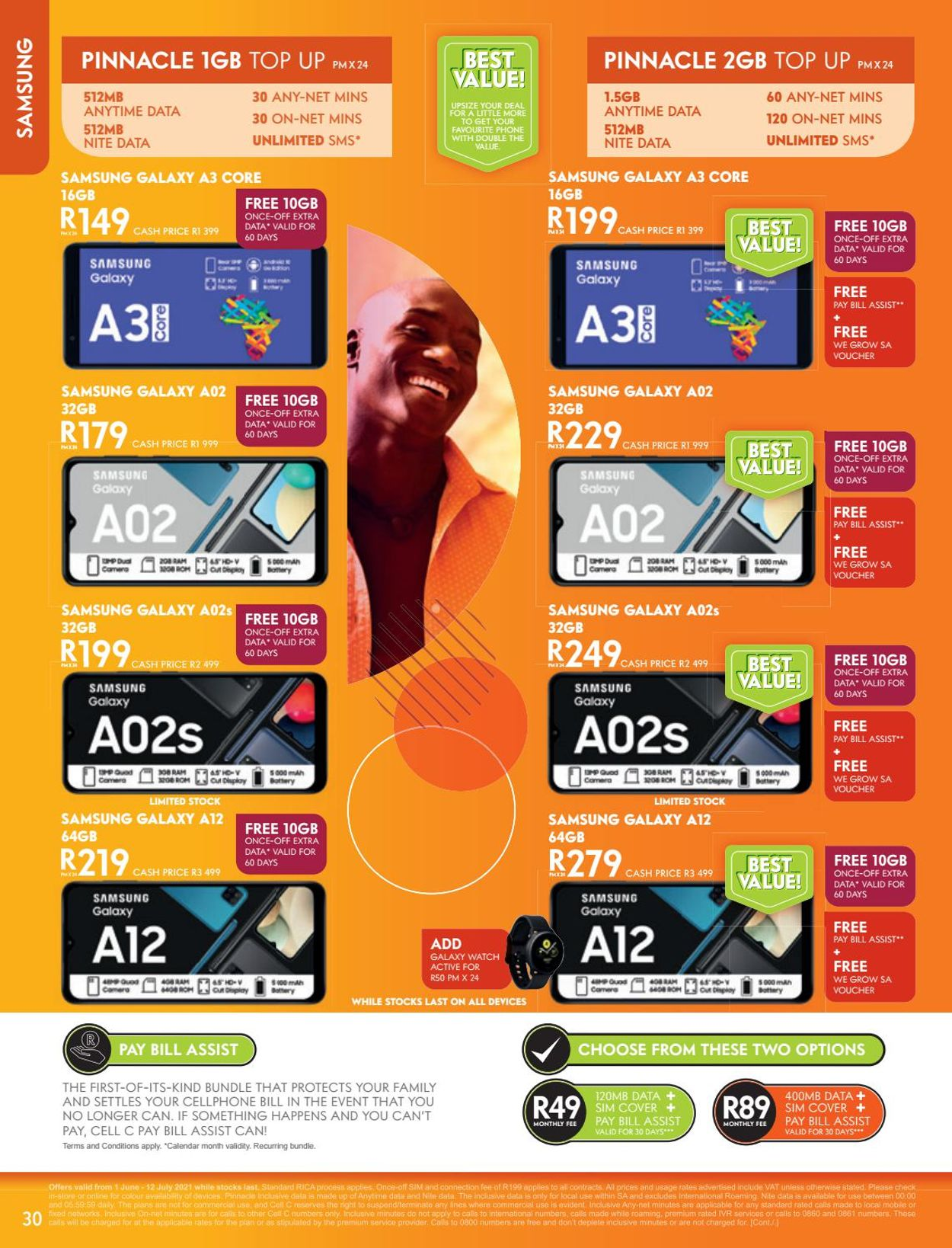 Cell C Catalogue - 2021/05/31-2021/07/12 (Page 30)