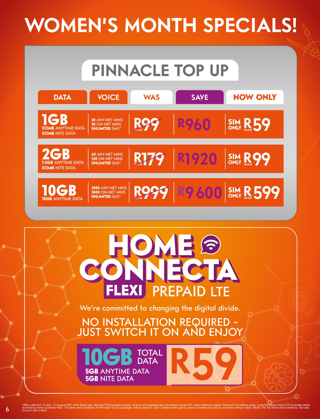 Cell C Catalogue - 2021/07/13-2021/08/31 (Page 6)