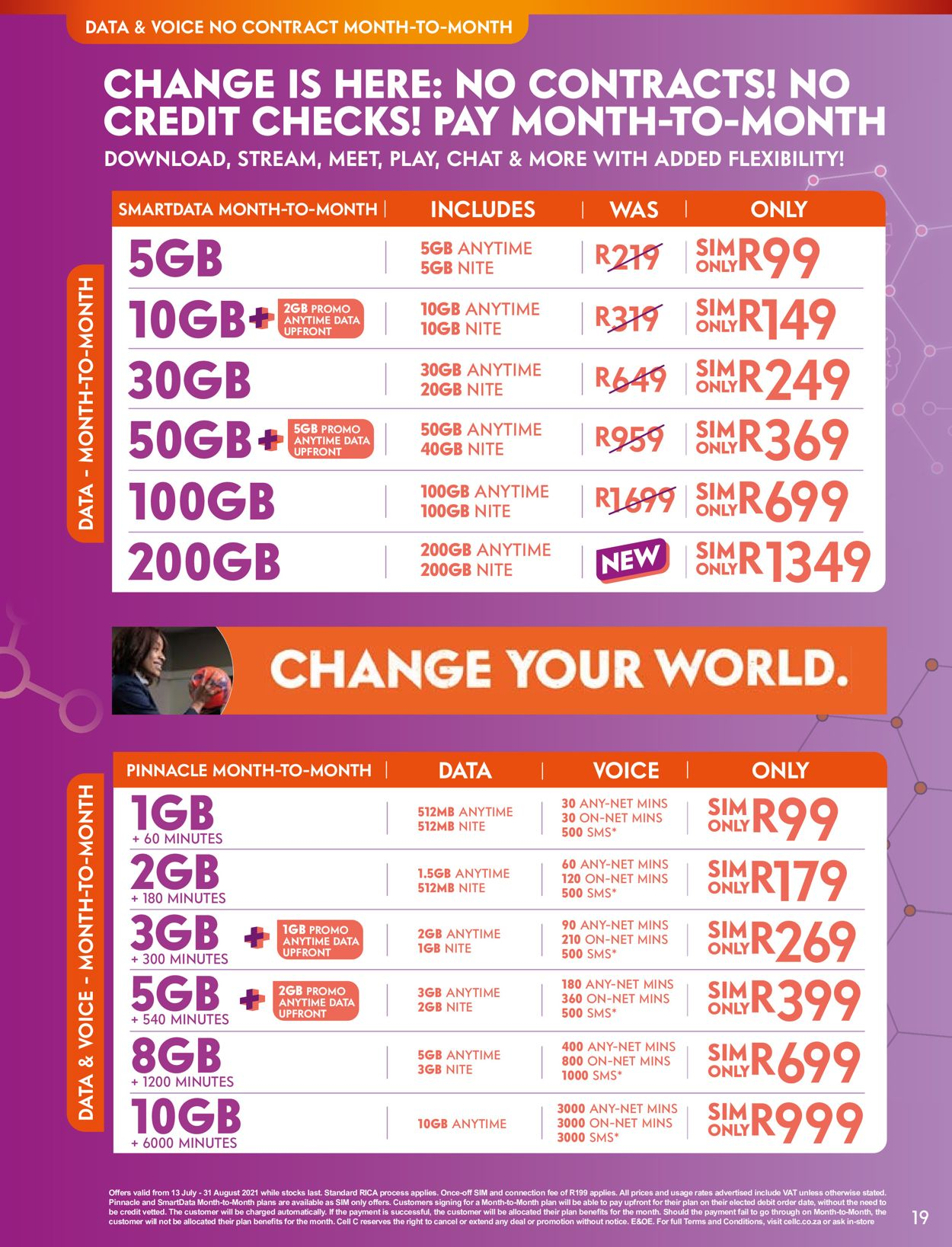 Cell C Catalogue - 2021/07/13-2021/08/31 (Page 19)