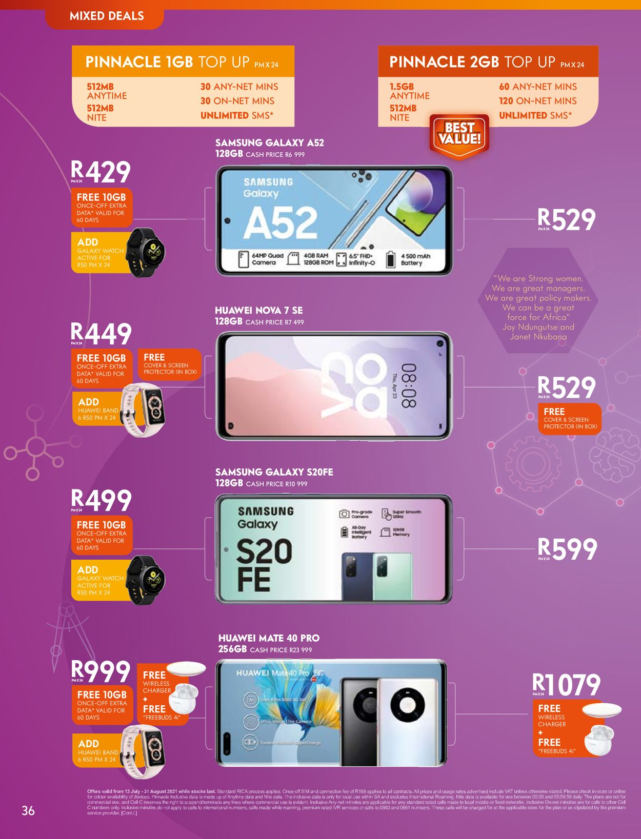 Cell C Catalogue - 2021/07/13-2021/08/31 (Page 36)