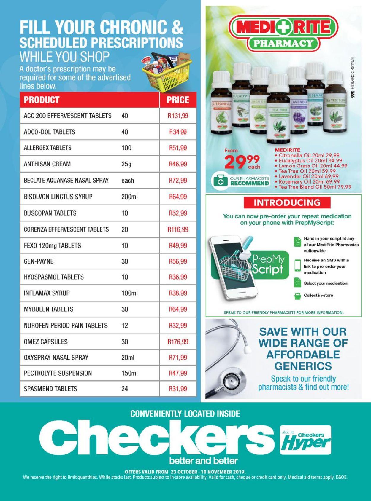 Checkers Catalogue - 2019/10/23-2019/11/10 (Page 3)