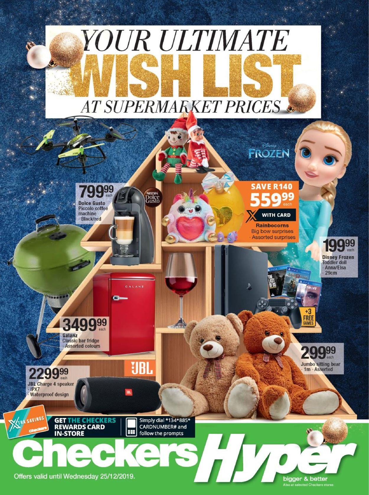 Checkers Christmas Catalogue 2019 Catalogue - 2019/11/18-2019/12/25