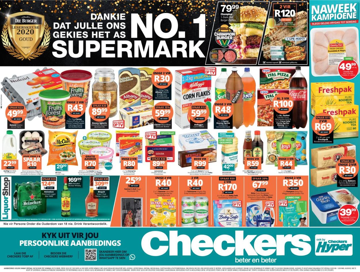 Checkers Catalogue - 2020/10/30-2020/11/01