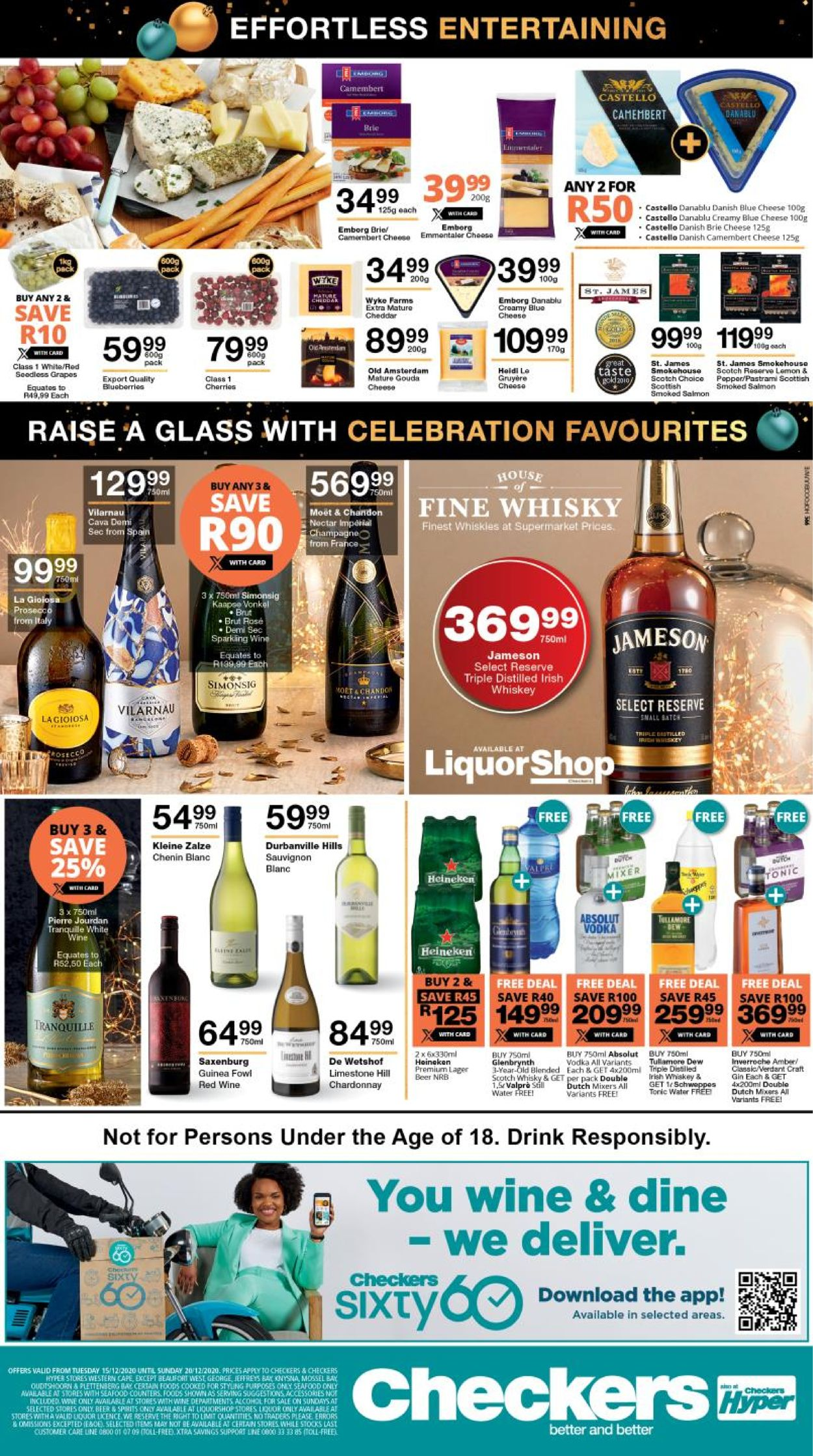 Checkers Xtra Merry Christmas 2020 Catalogue - 2020/12/15-2020/12/20 (Page 3)