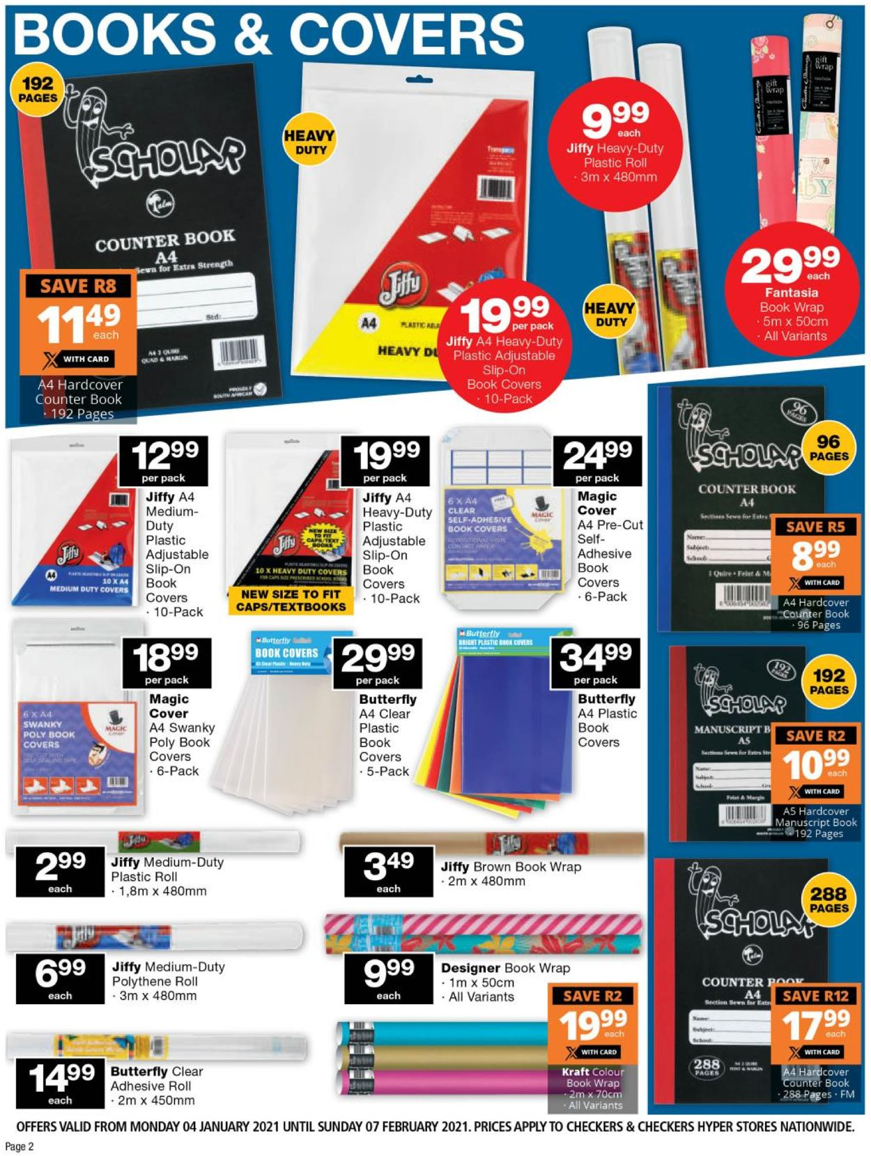 Checkers Back To School 2021 Catalogue - 2021/01/04-2021/02/07 (Page 2)