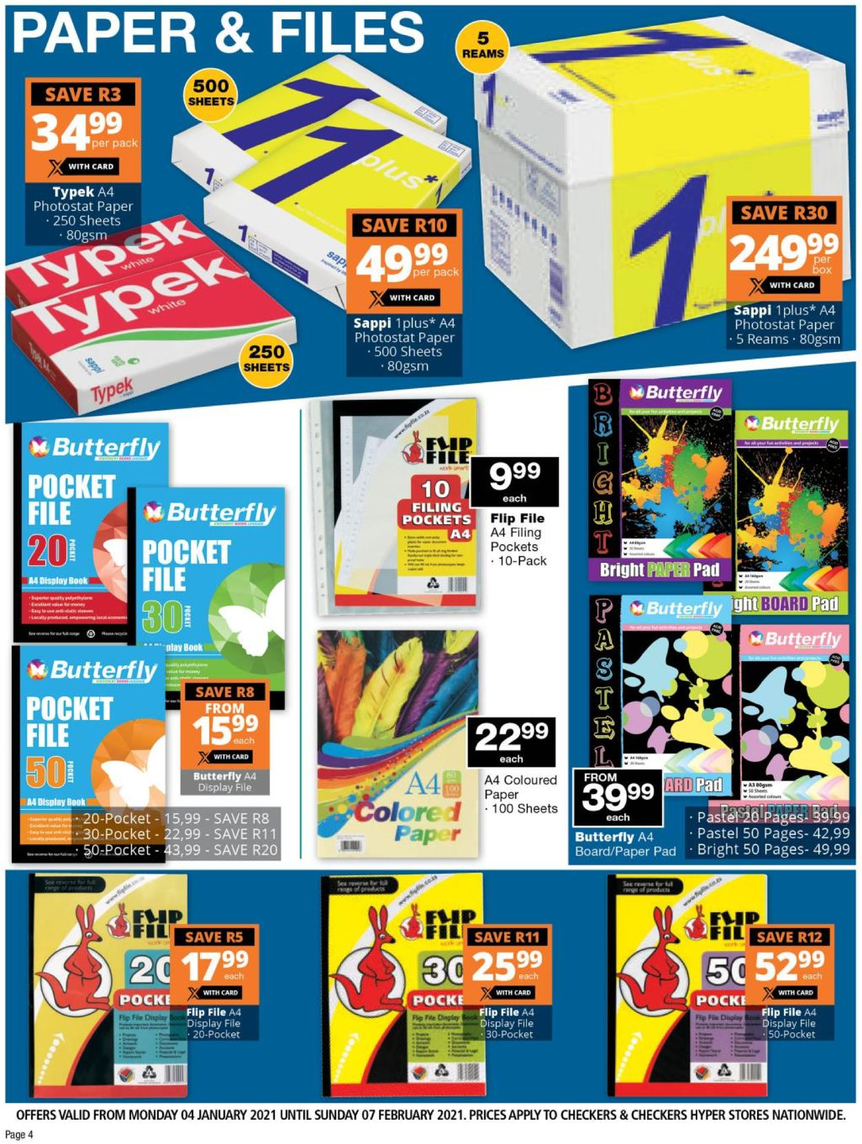 Checkers Back To School 2021 Catalogue - 2021/01/04-2021/02/07 (Page 4)