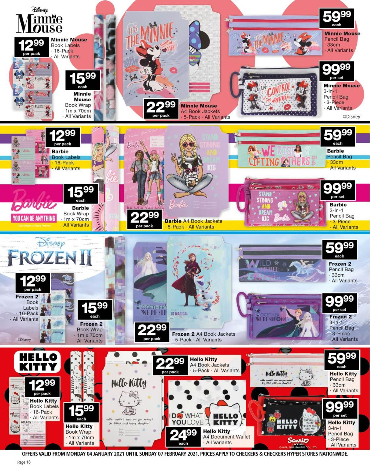 Checkers Back To School 2021 Catalogue - 2021/01/04-2021/02/07 (Page 16)