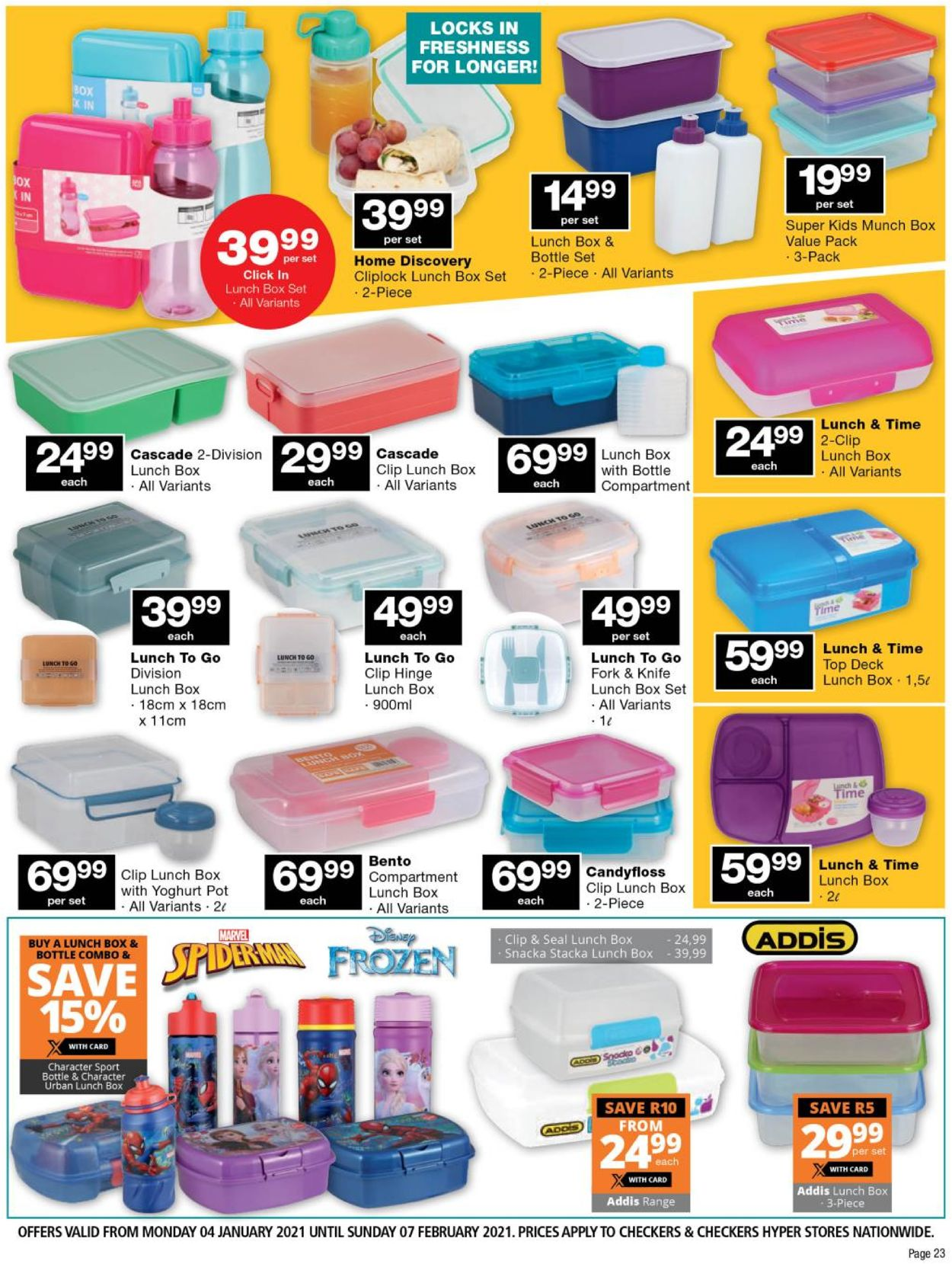 Checkers Back To School 2021 Catalogue - 2021/01/04-2021/02/07 (Page 23)
