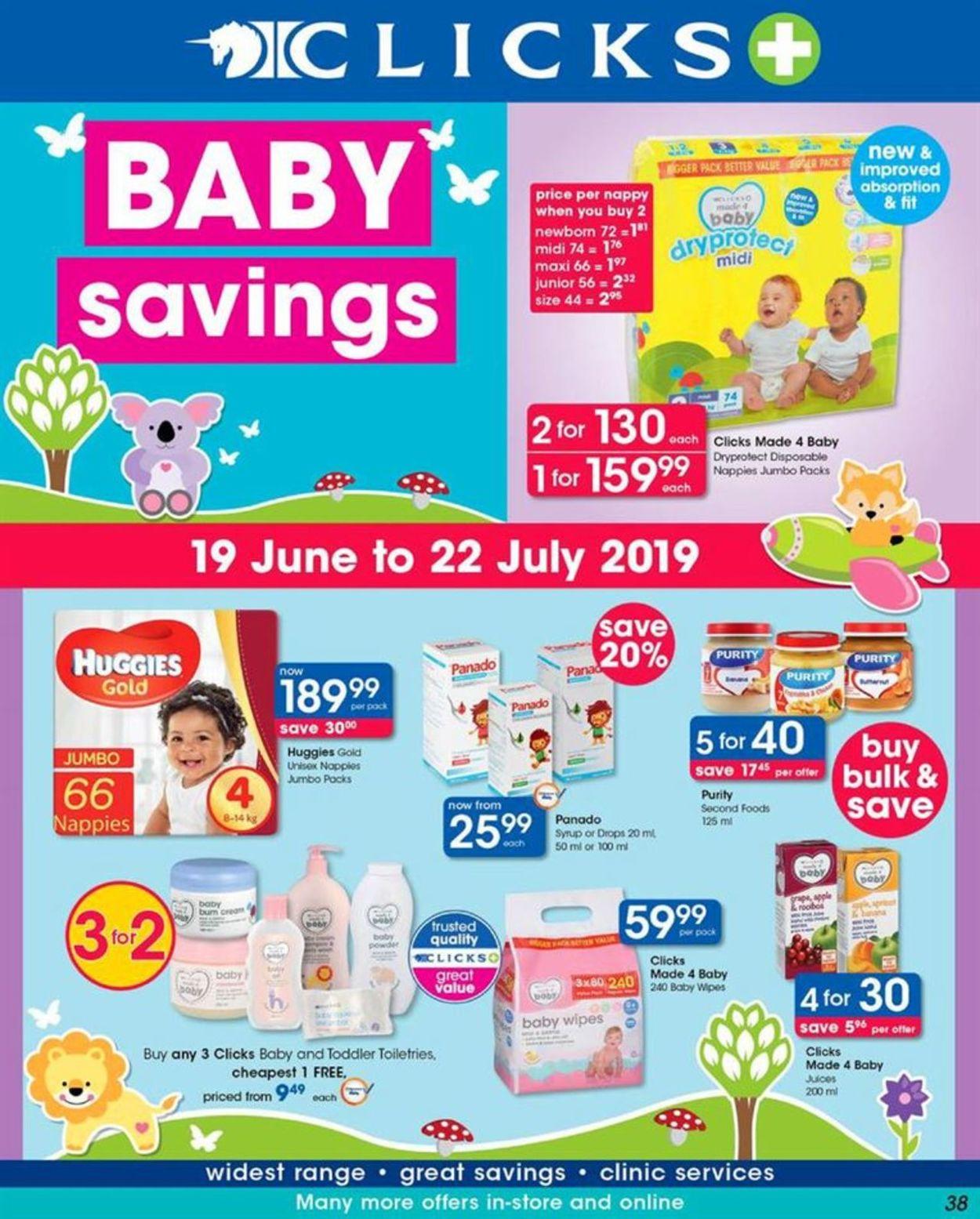 Clicks Catalogue - 2019/06/19-2019/07/22