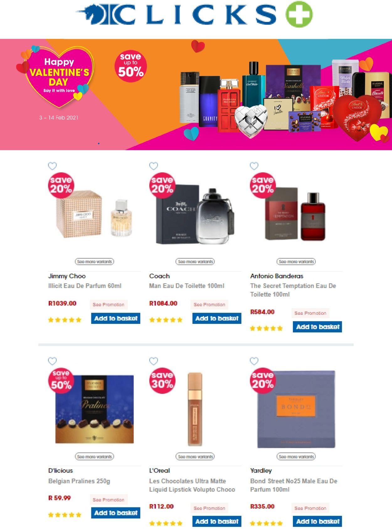 Clicks Catalogue - 2021/02/11-2021/02/14