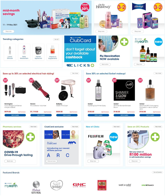 Clicks Catalogue - 2021/05/11-2021/05/31