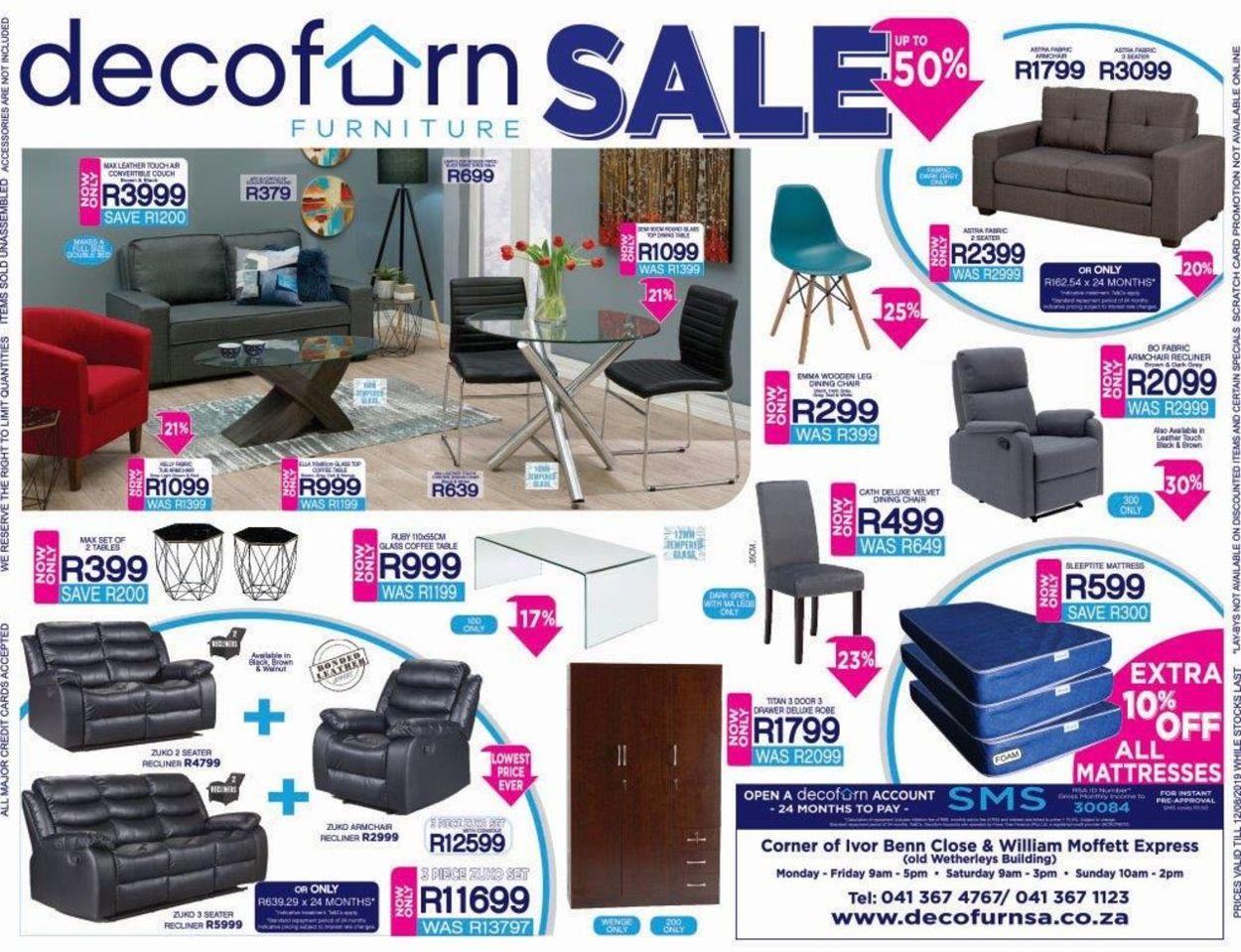 Decofurn Factory Shop Catalogue - 2019/08/07-2019/08/12
