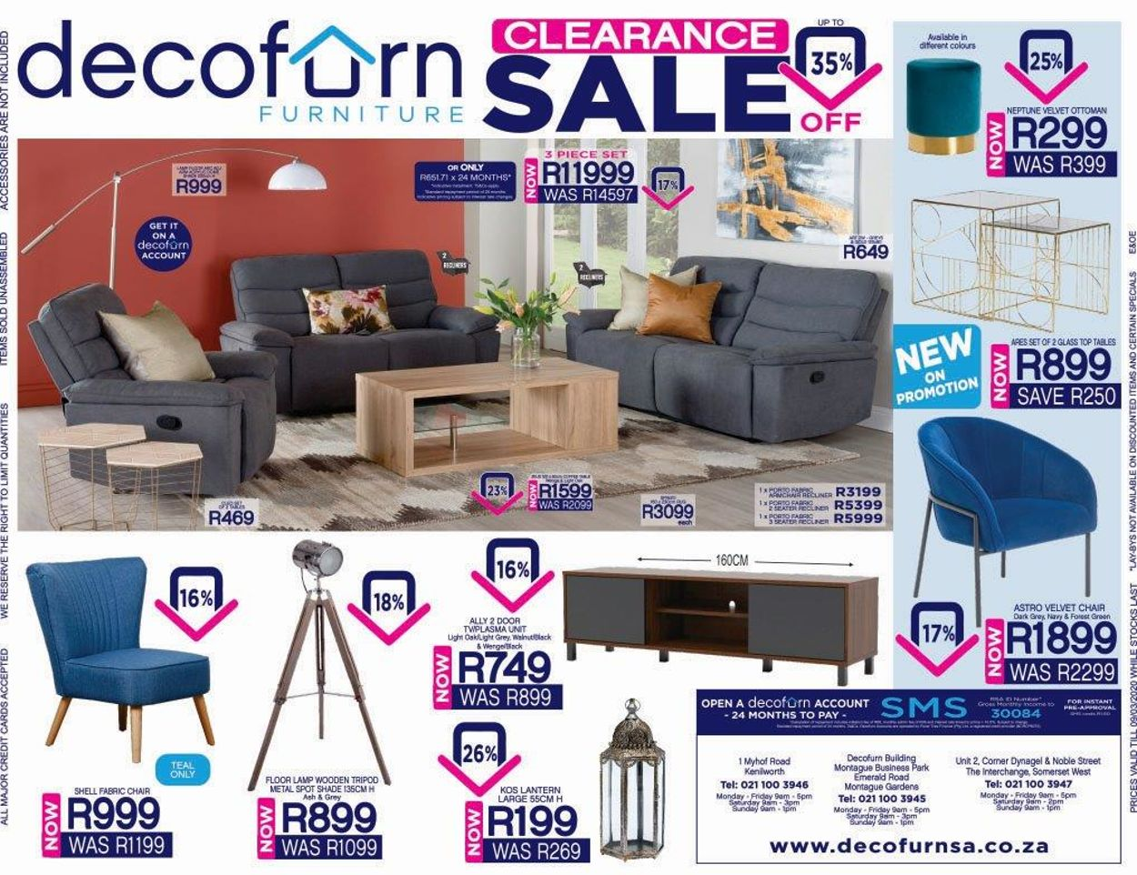 Decofurn Factory Shop Catalogue - 2020/03/02-2020/03/09