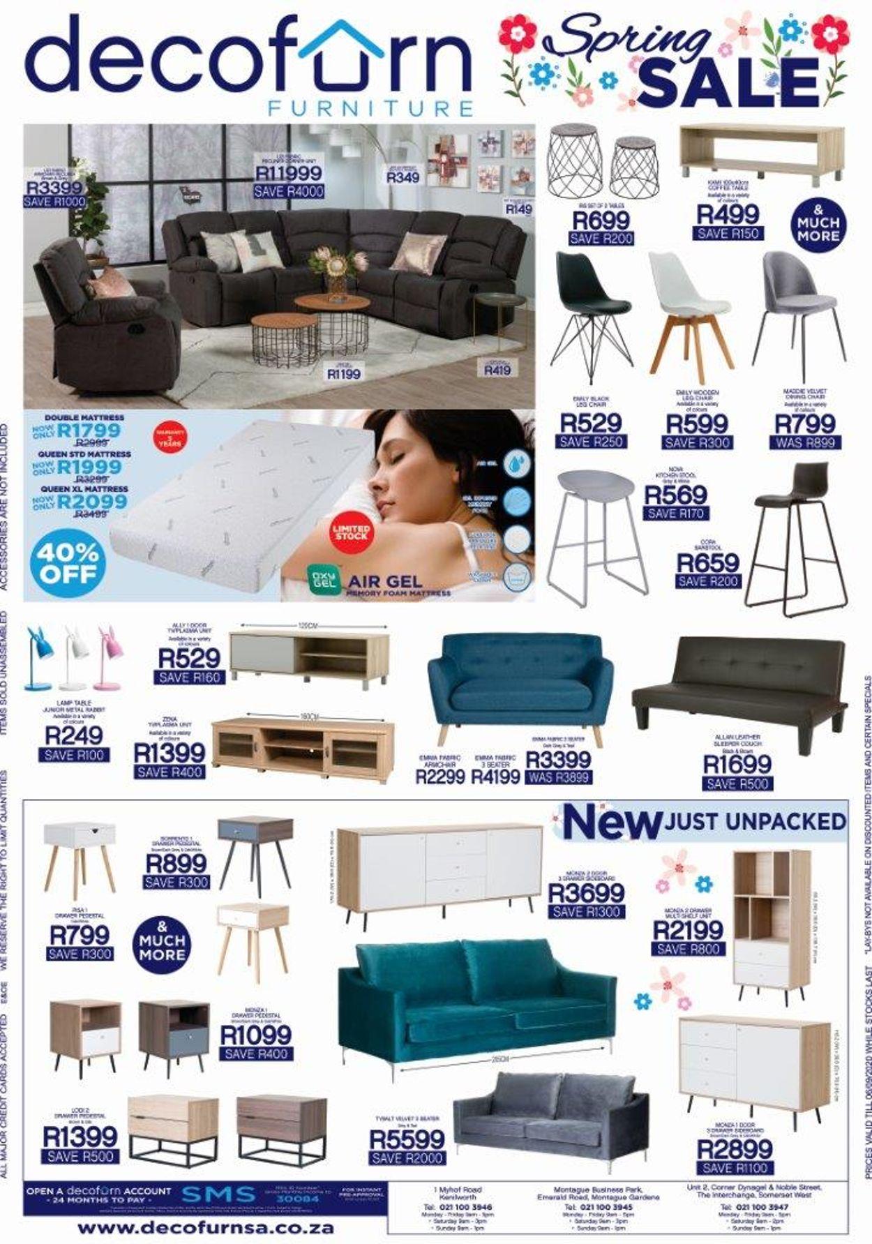 Decofurn Factory Shop Catalogue - 2020/08/31-2020/09/05