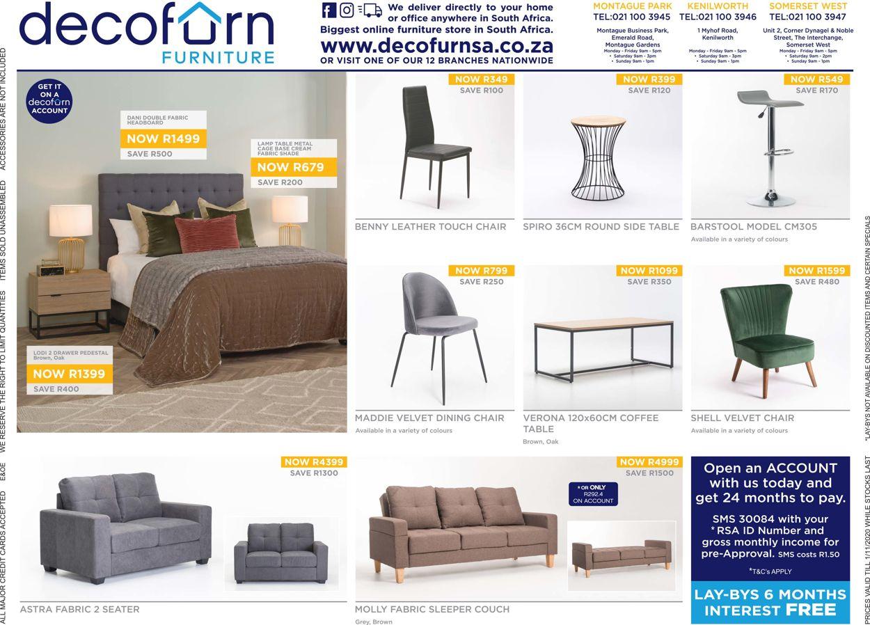 Decofurn Factory Shop Catalogue - 2020/10/27-2020/11/05