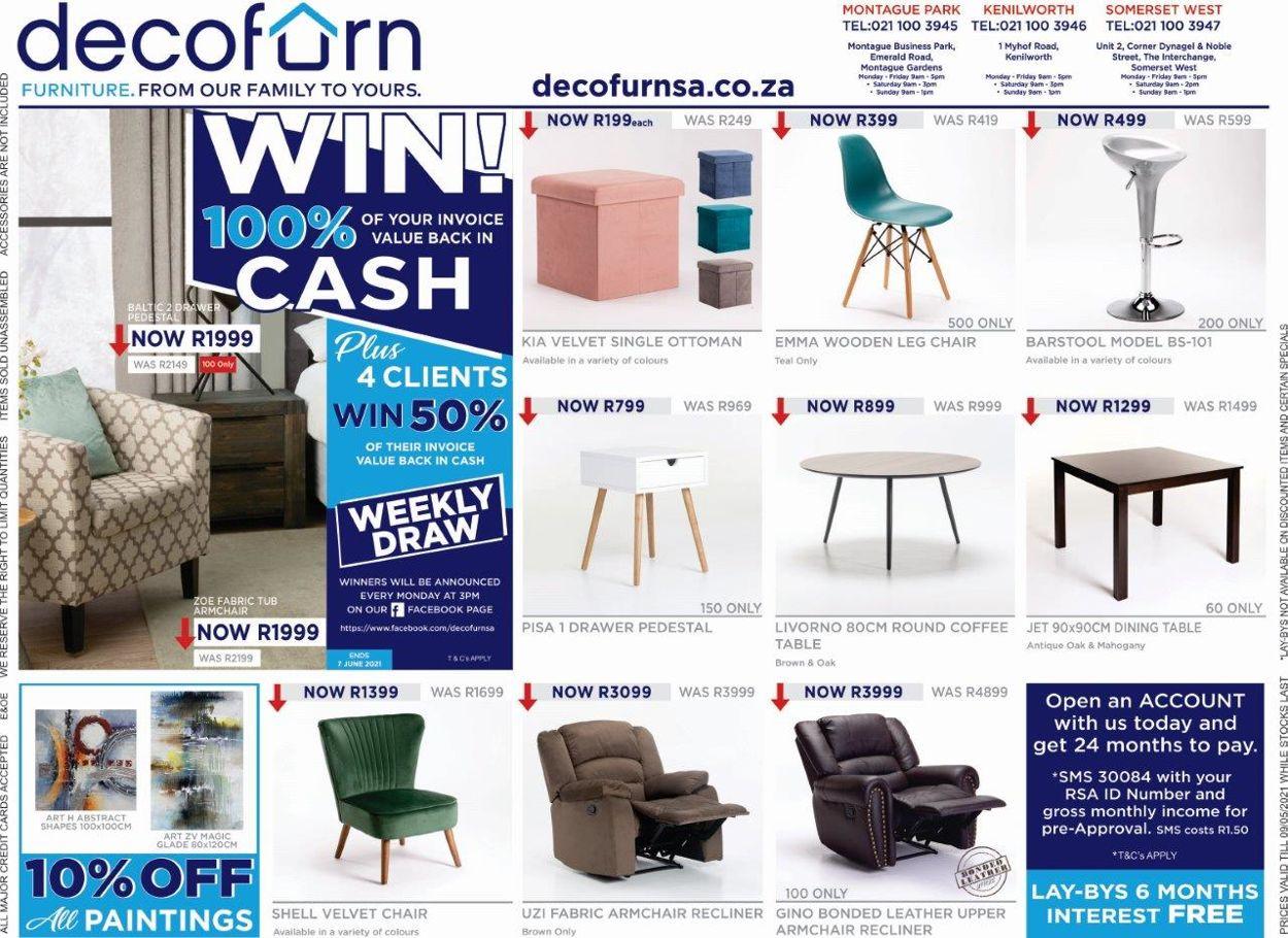 Decofurn Factory Shop Catalogue - 2021/05/04-2021/05/16