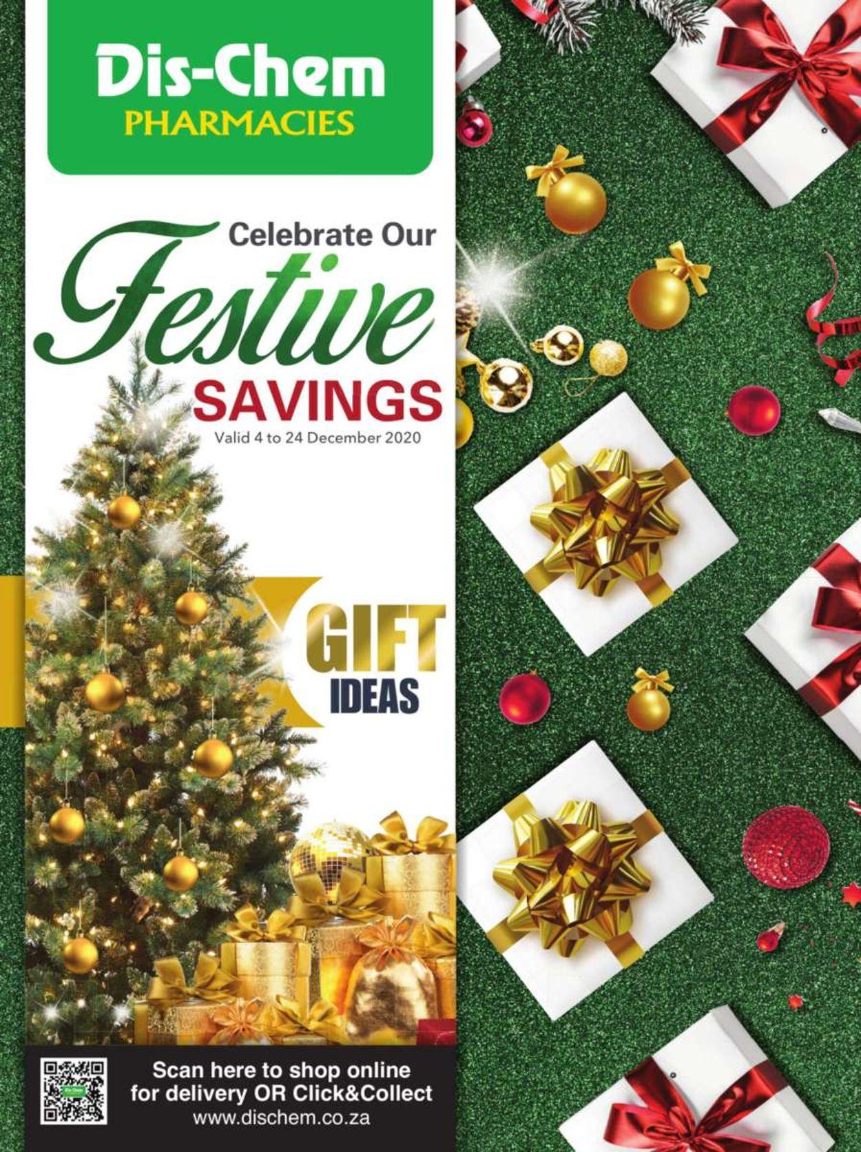 Dis-Chem Festive Savings 2020 Catalogue - 2020/12/04-2020/12/24