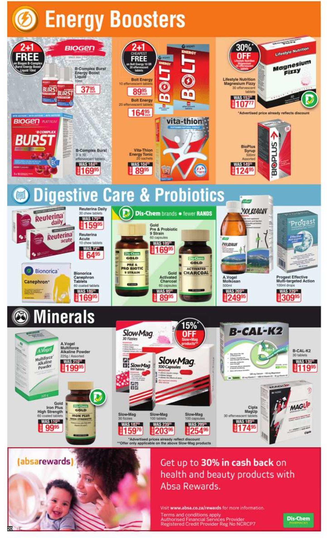 Dis-Chem Catalogue - 2021/04/23-2021/05/09 (Page 20)