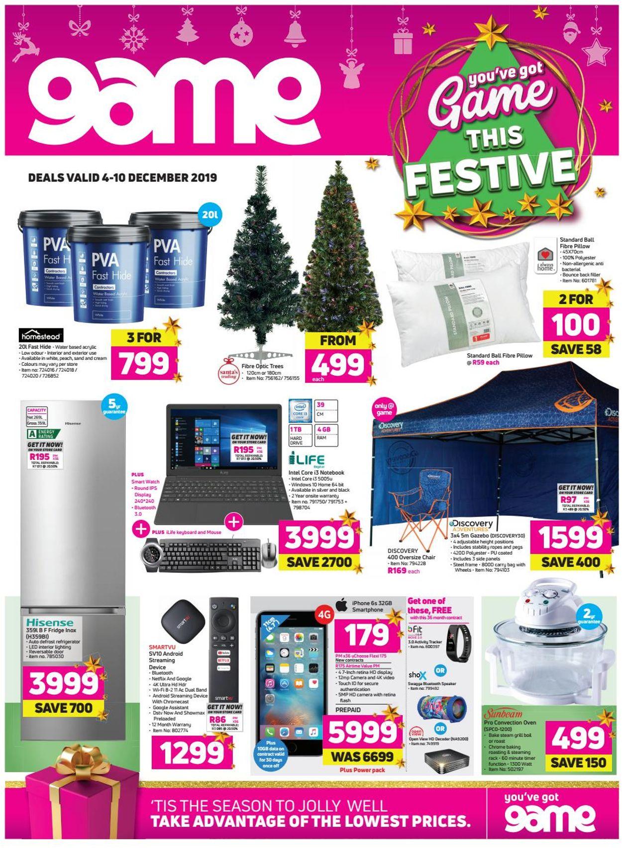 Game Christmas Catalogue 2019 Catalogue - 2019/12/04-2019/12/10