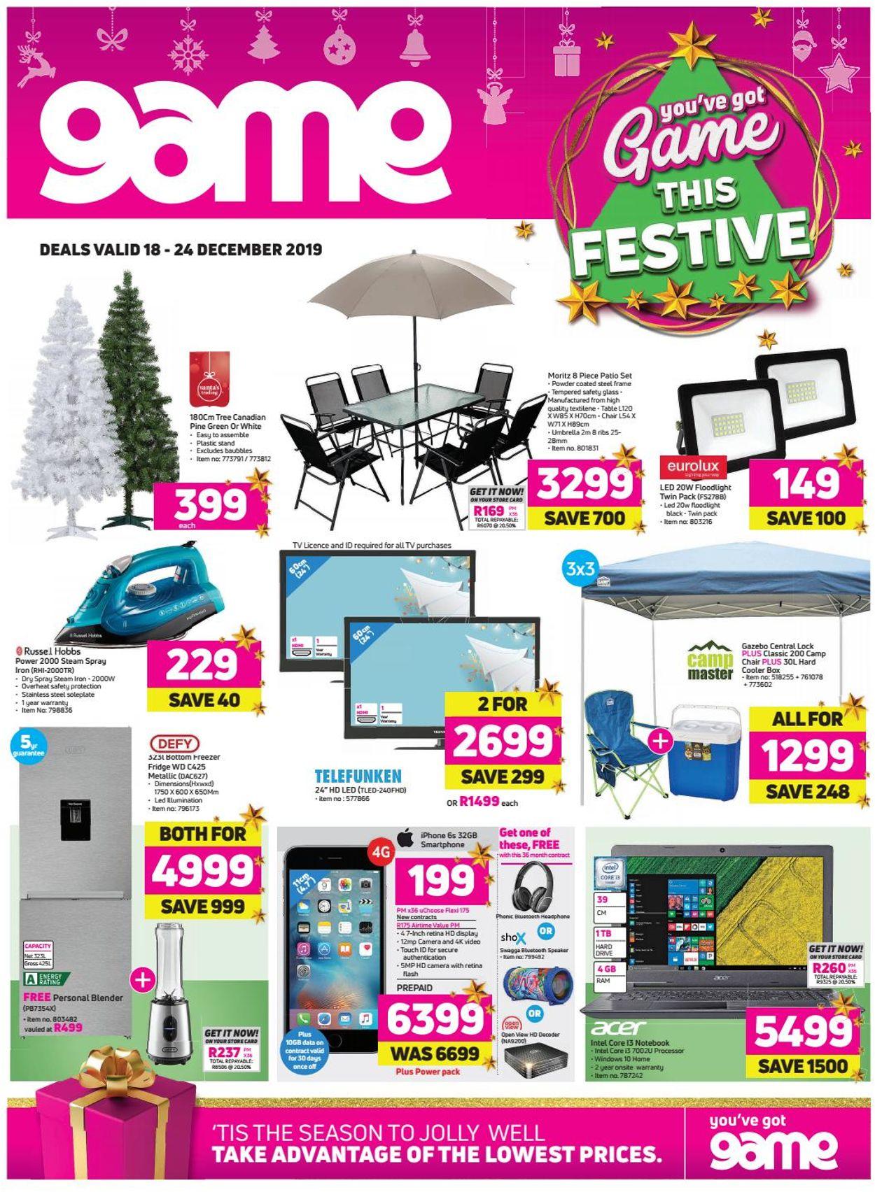 Game Christmas Catalogue 2019 Catalogue - 2019/12/18-2019/12/24