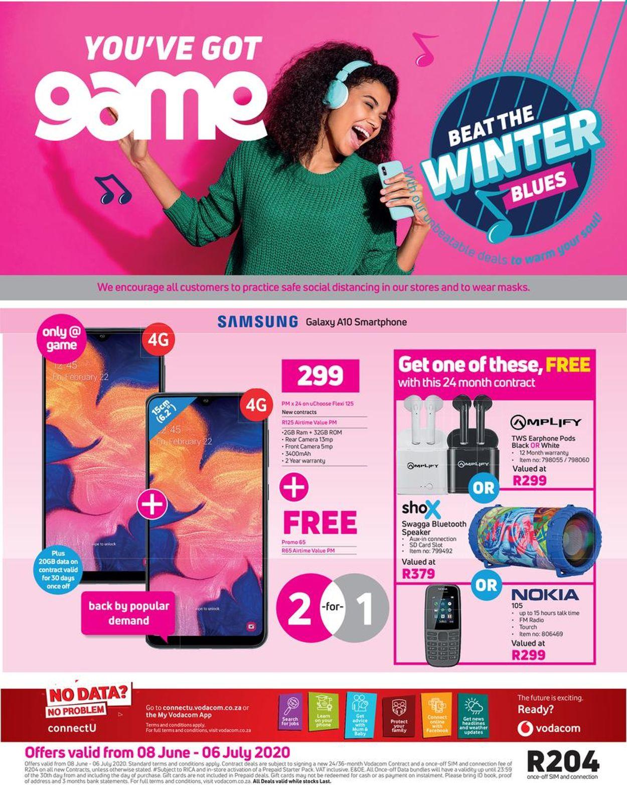Game Catalogue - 2020/06/08-2020/07/06