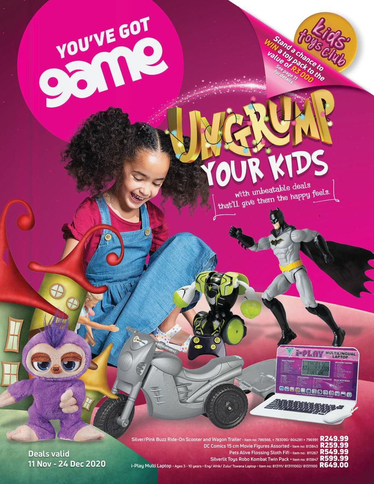 Game Catalogue - 2020/11/11-2020/12/24