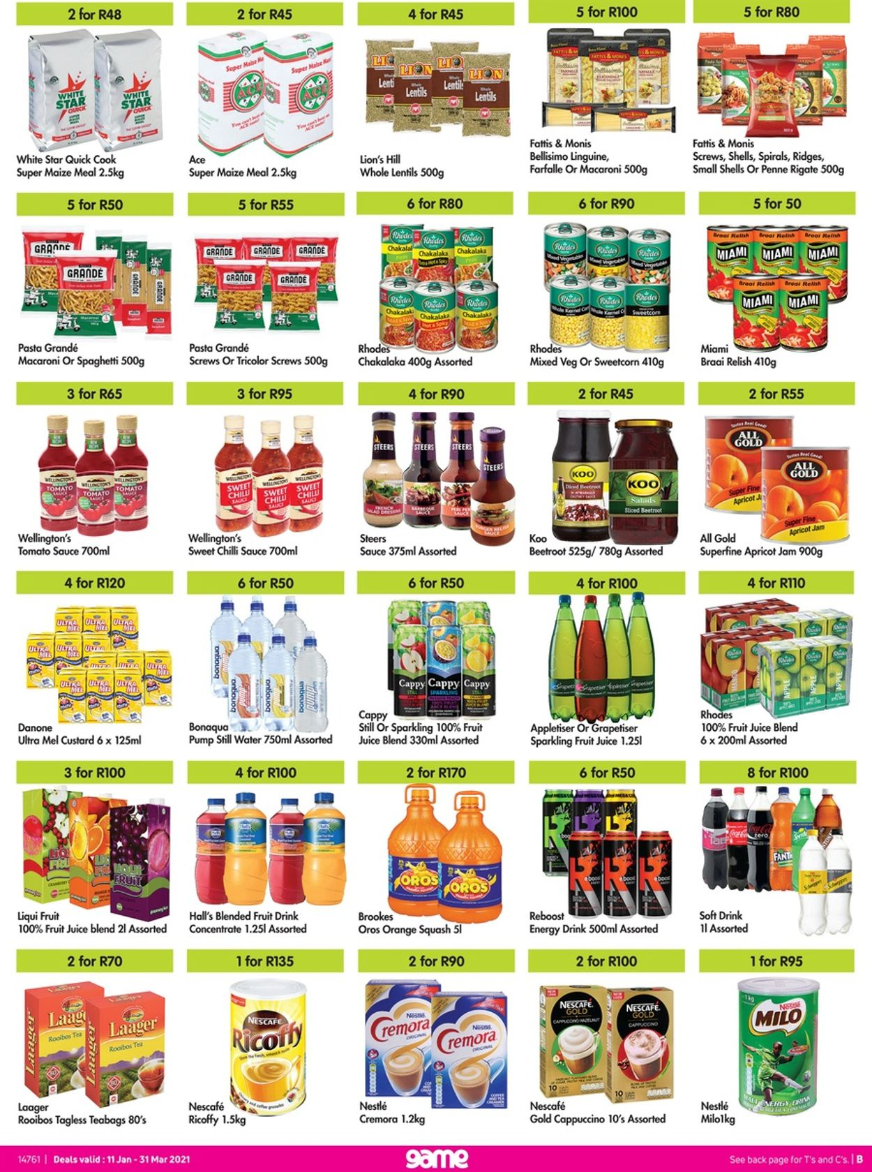 Game More 4 Less 2021 Catalogue - 2021/01/11-2021/03/31 (Page 2)