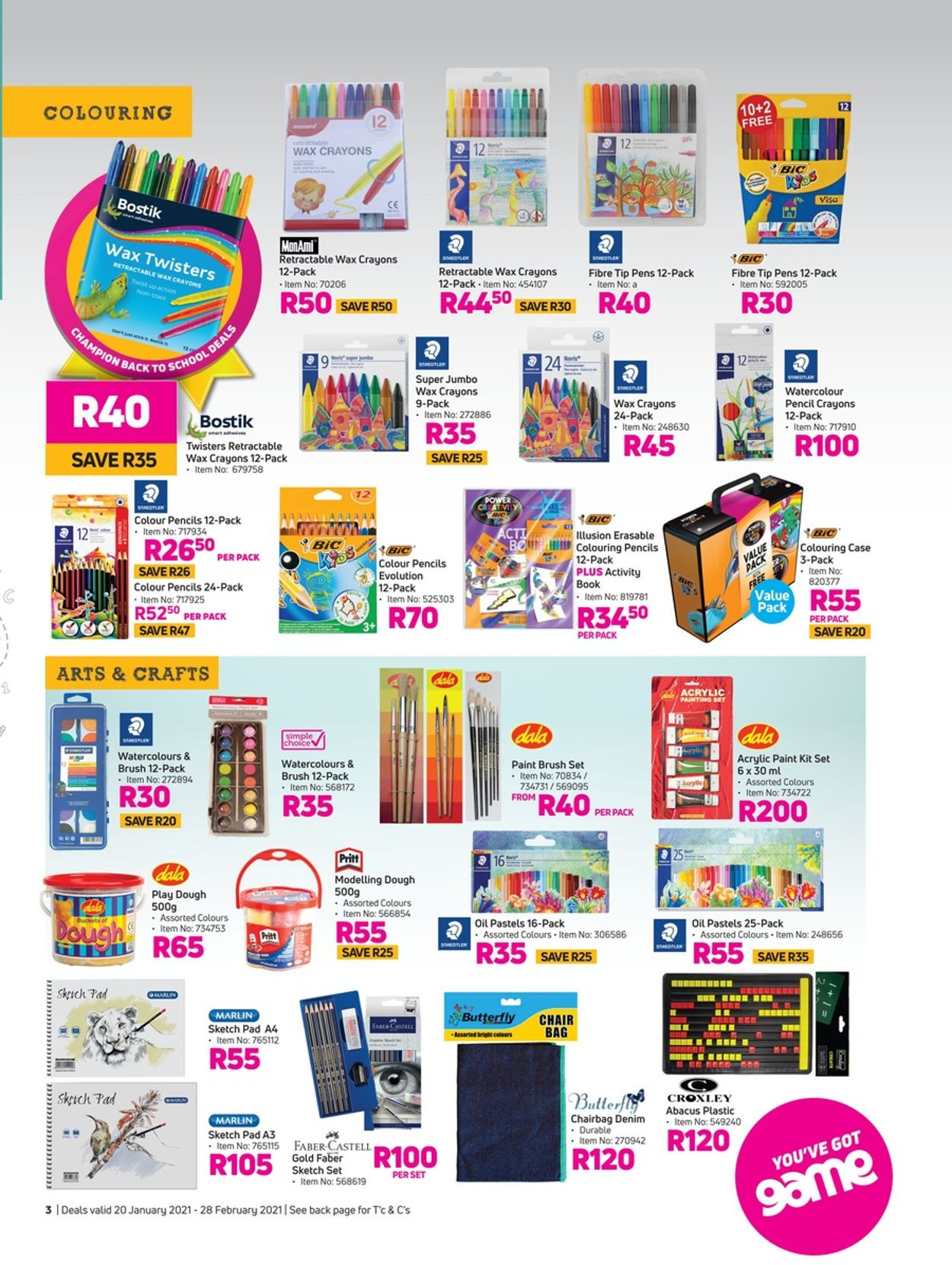 Game Back To School 2021 Catalogue - 2021/01/20-2021/02/28 (Page 3)