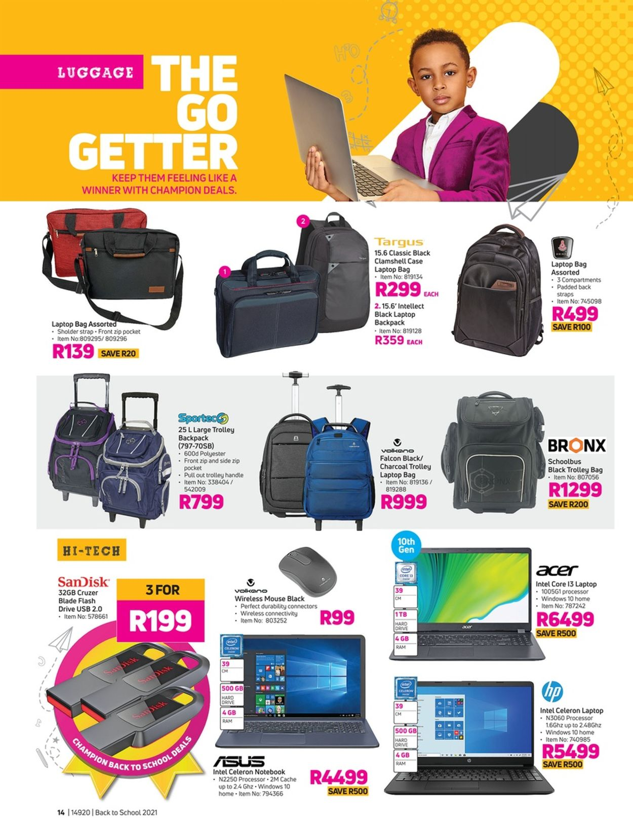 Game Back To School 2021 Catalogue - 2021/01/20-2021/02/28 (Page 14)