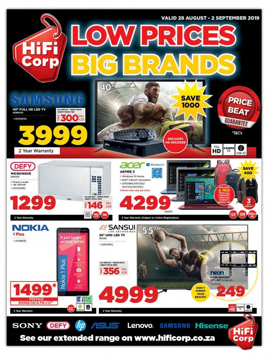HiFi Corp Catalogue - 2019/08/28-2019/09/02
