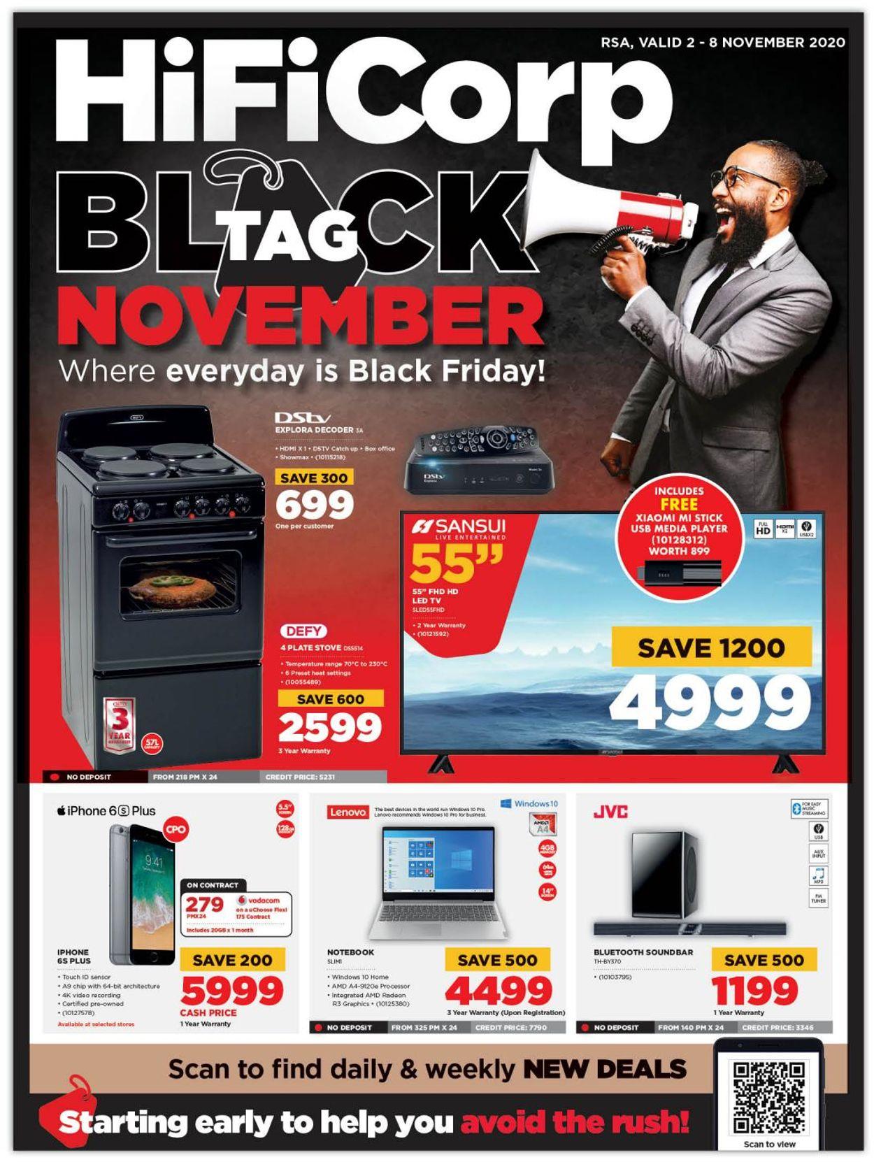 HiFi Corp Black Friday 2020 Catalogue - 2020/11/02-2020/11/08