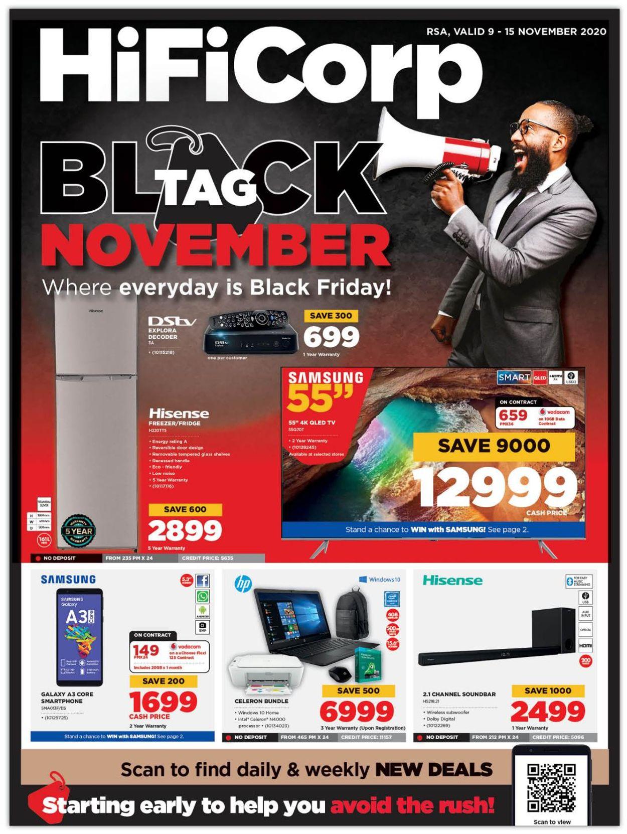 HiFi Corp Black Friday 2020 Catalogue - 2020/11/09-2020/11/15